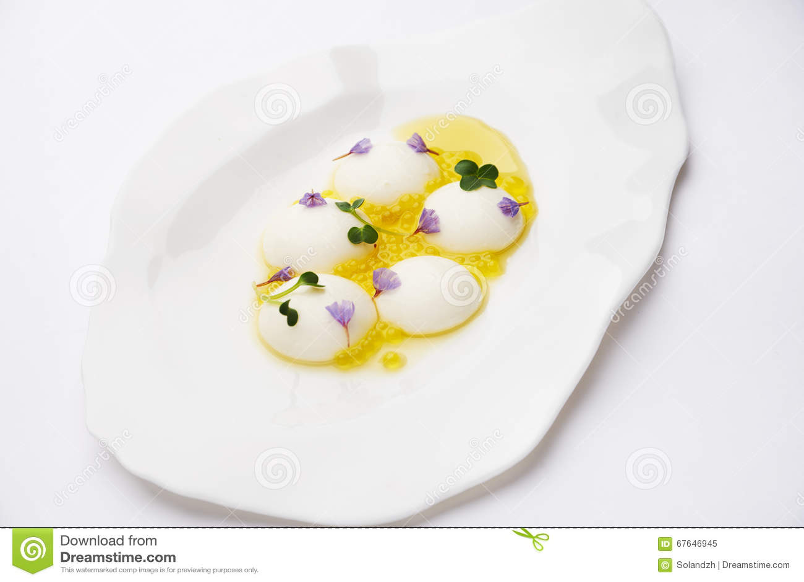γαστρονομία μοριακή Σφαίρα τυριών