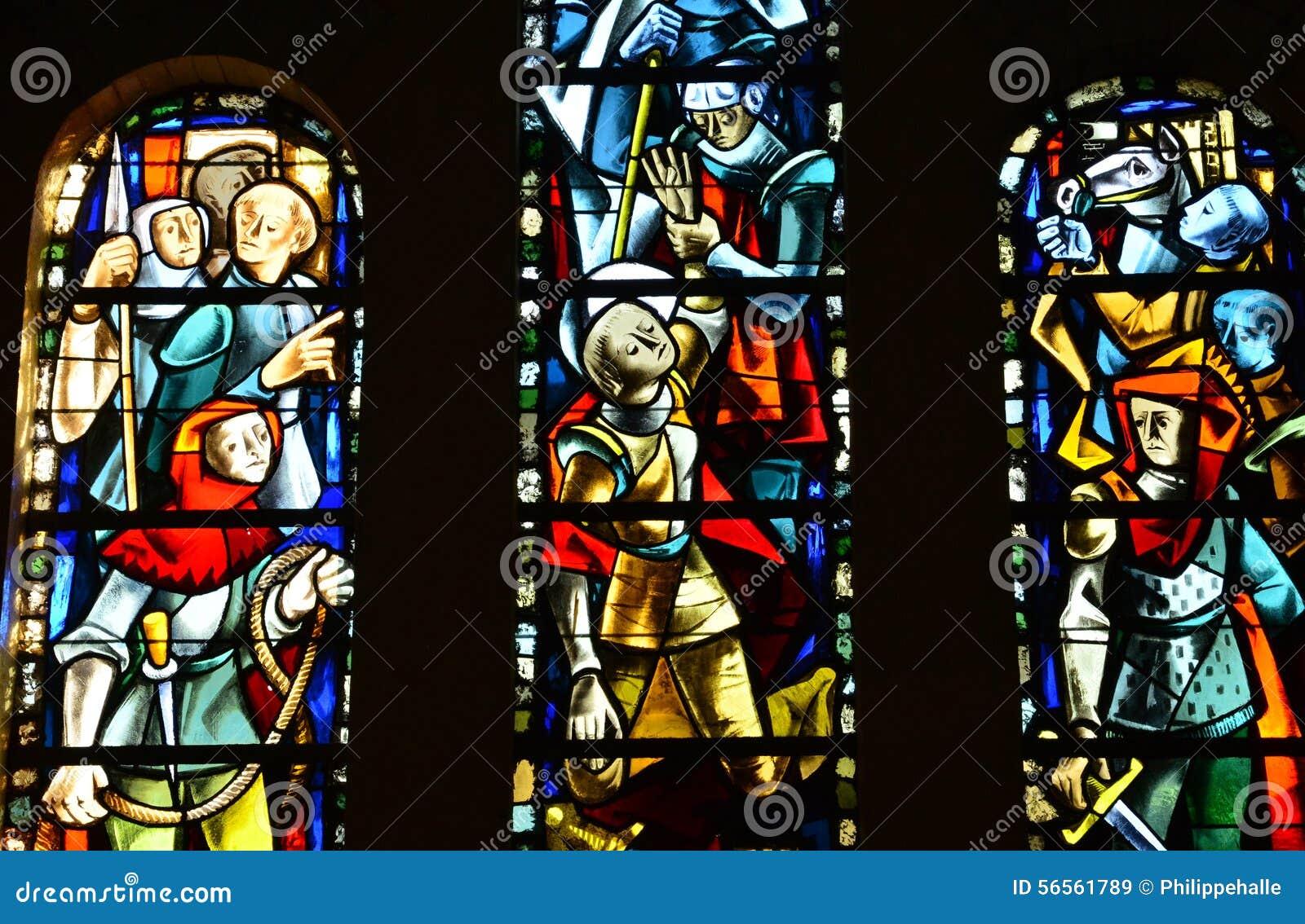 Download Γαλλία, η γραφική πόλη LE Touquet Στοκ Εικόνα - εικόνα από ιστορικός, λατρεία: 56561789