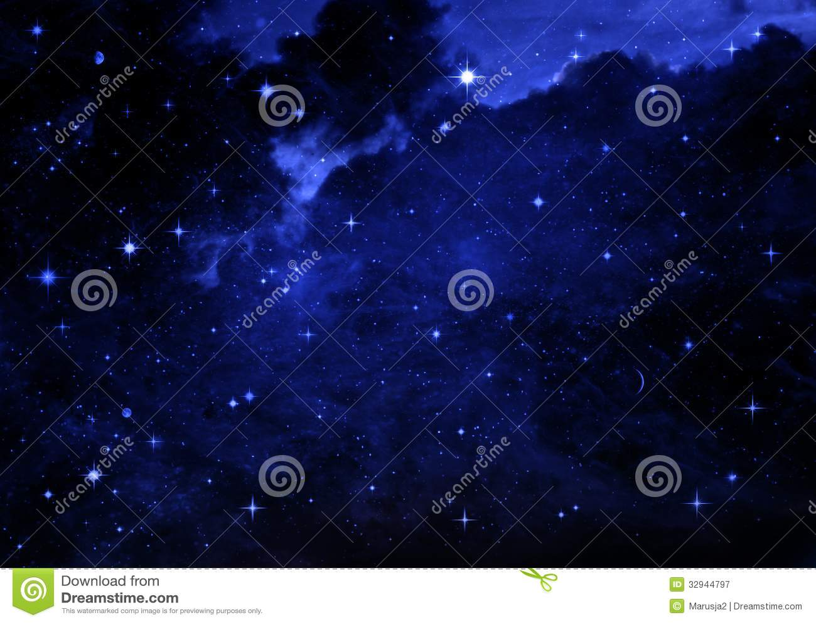 Γαλαξίας σε έναν ελεύθερου χώρου
