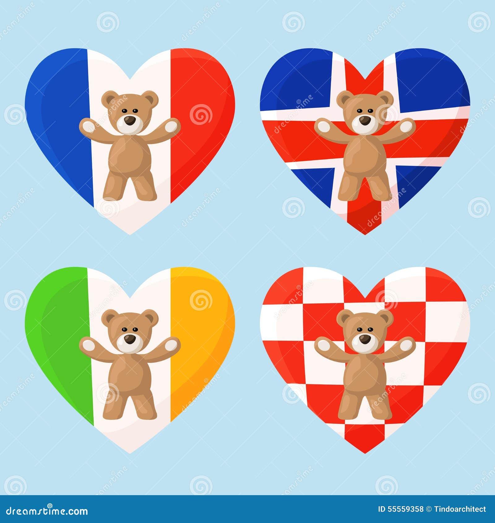 Γαλλικό, ισλανδικό, ιρλανδικό και κροατικό Teddy αντέχει