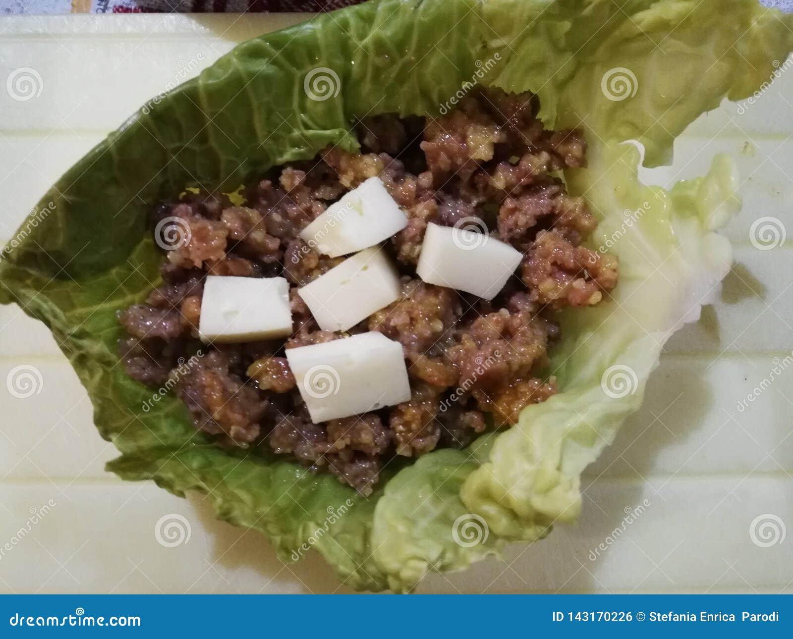 Γεμισμένο λάχανο κραμπολάχανου