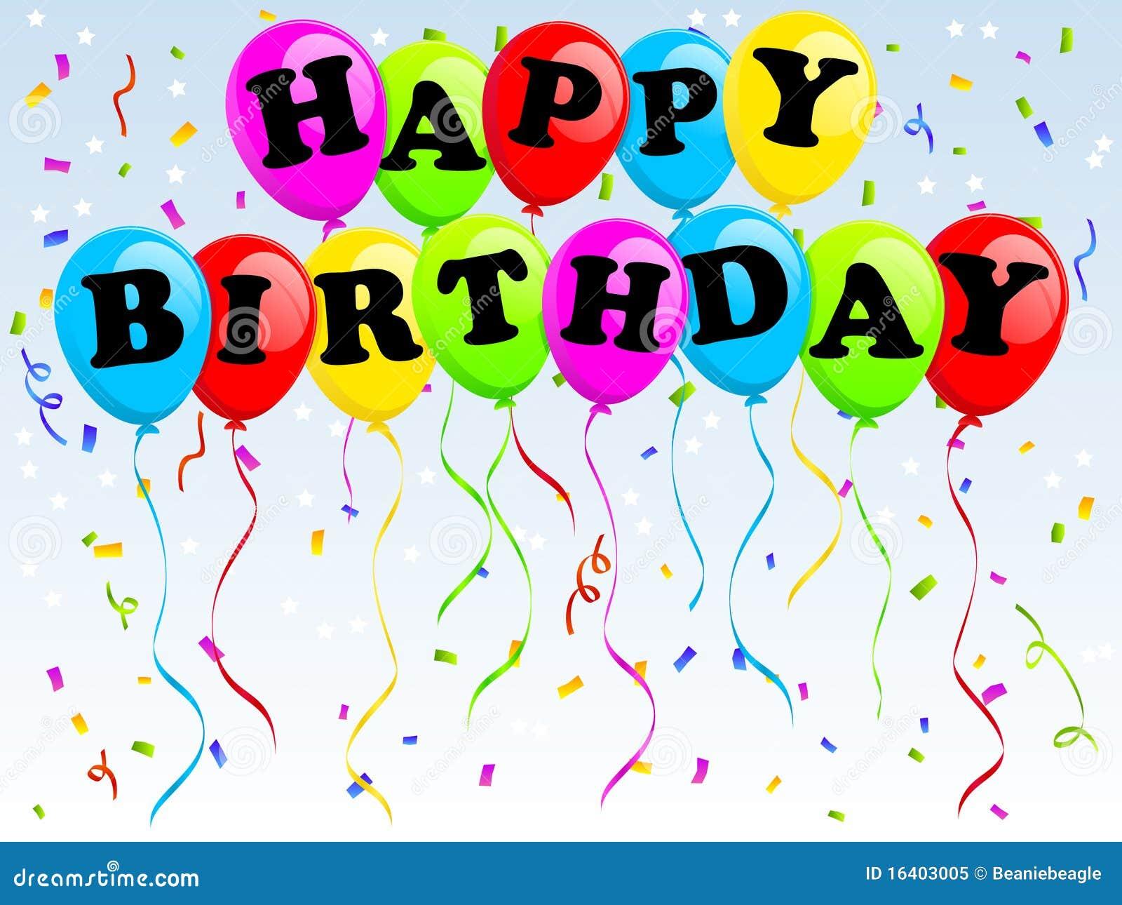 γενέθλια μπαλονιών ευτυ