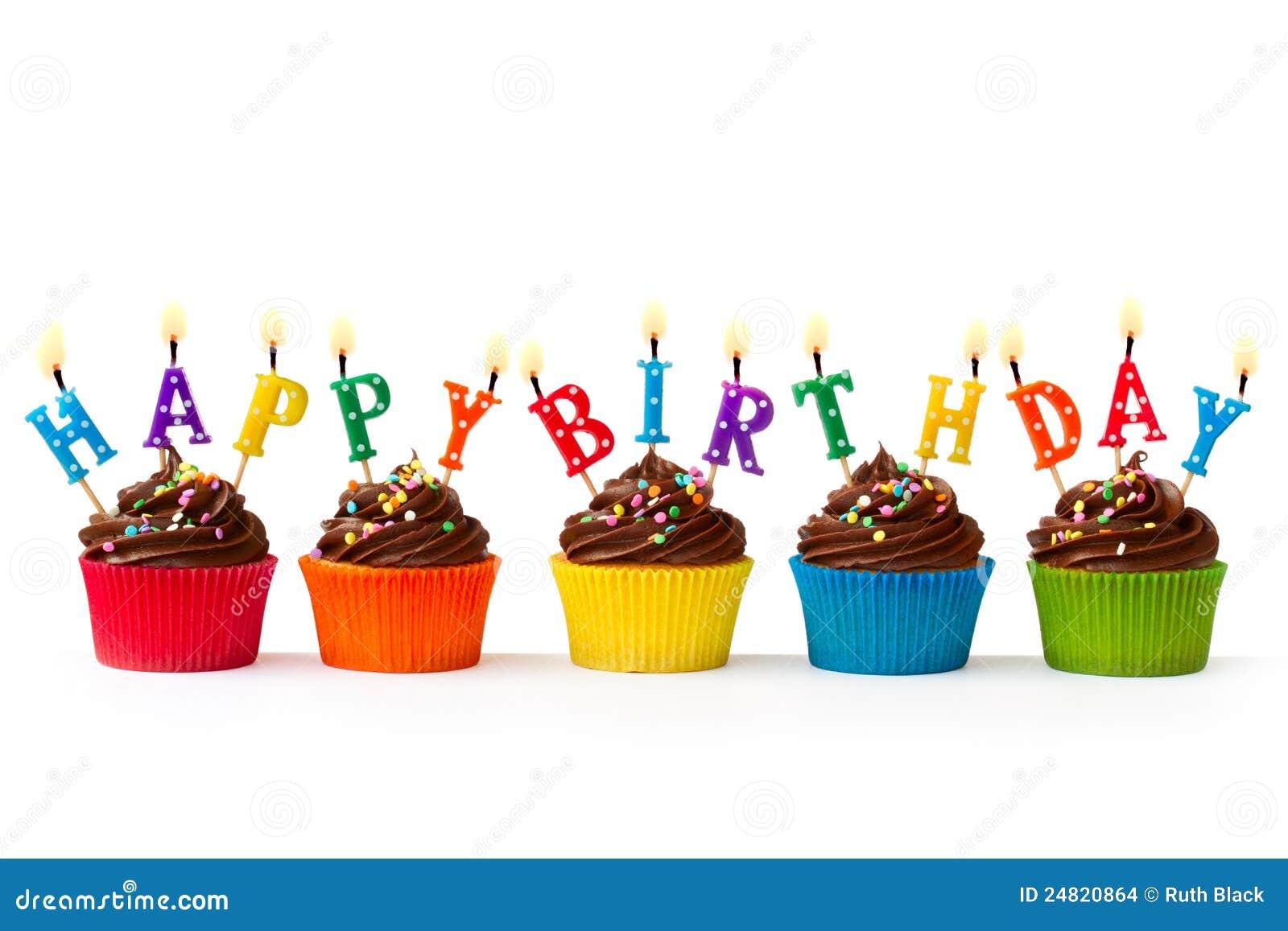 γενέθλια cupcakes