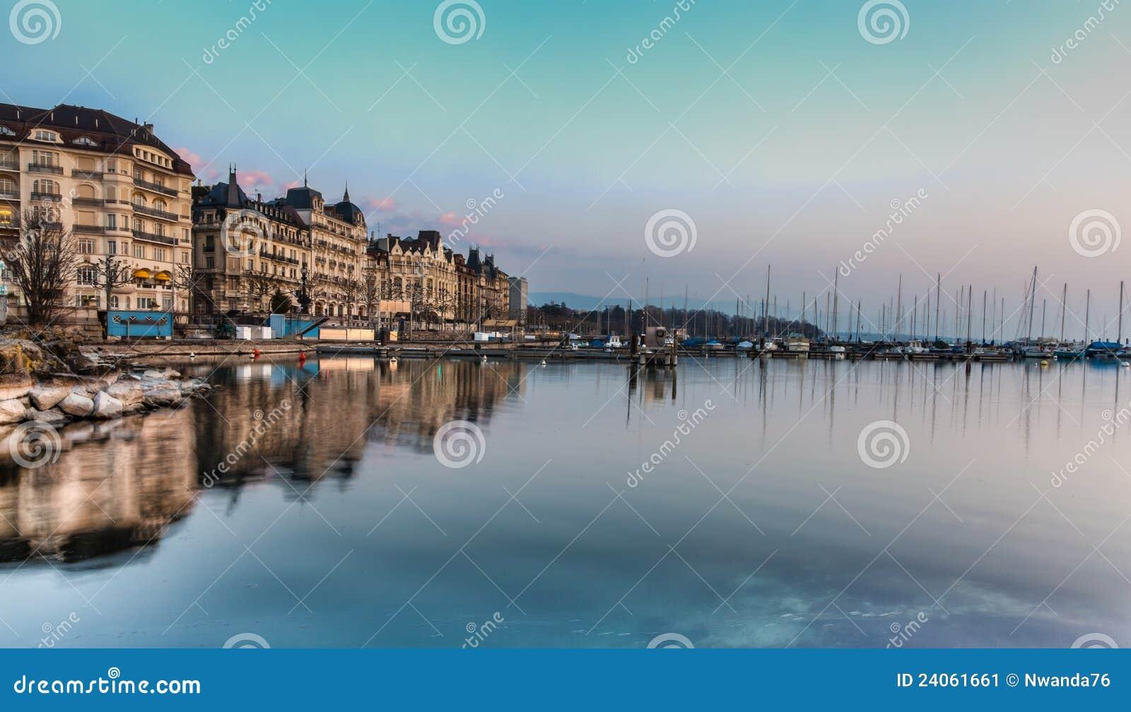 Γενεύη lakefront