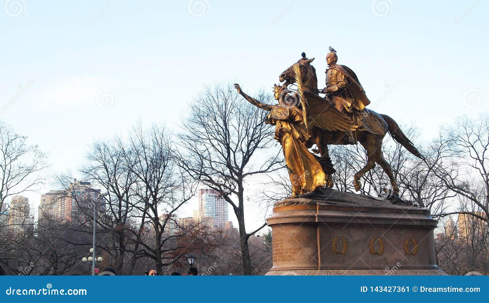 Γενικό μνημείο του William Tecumseh Sherman