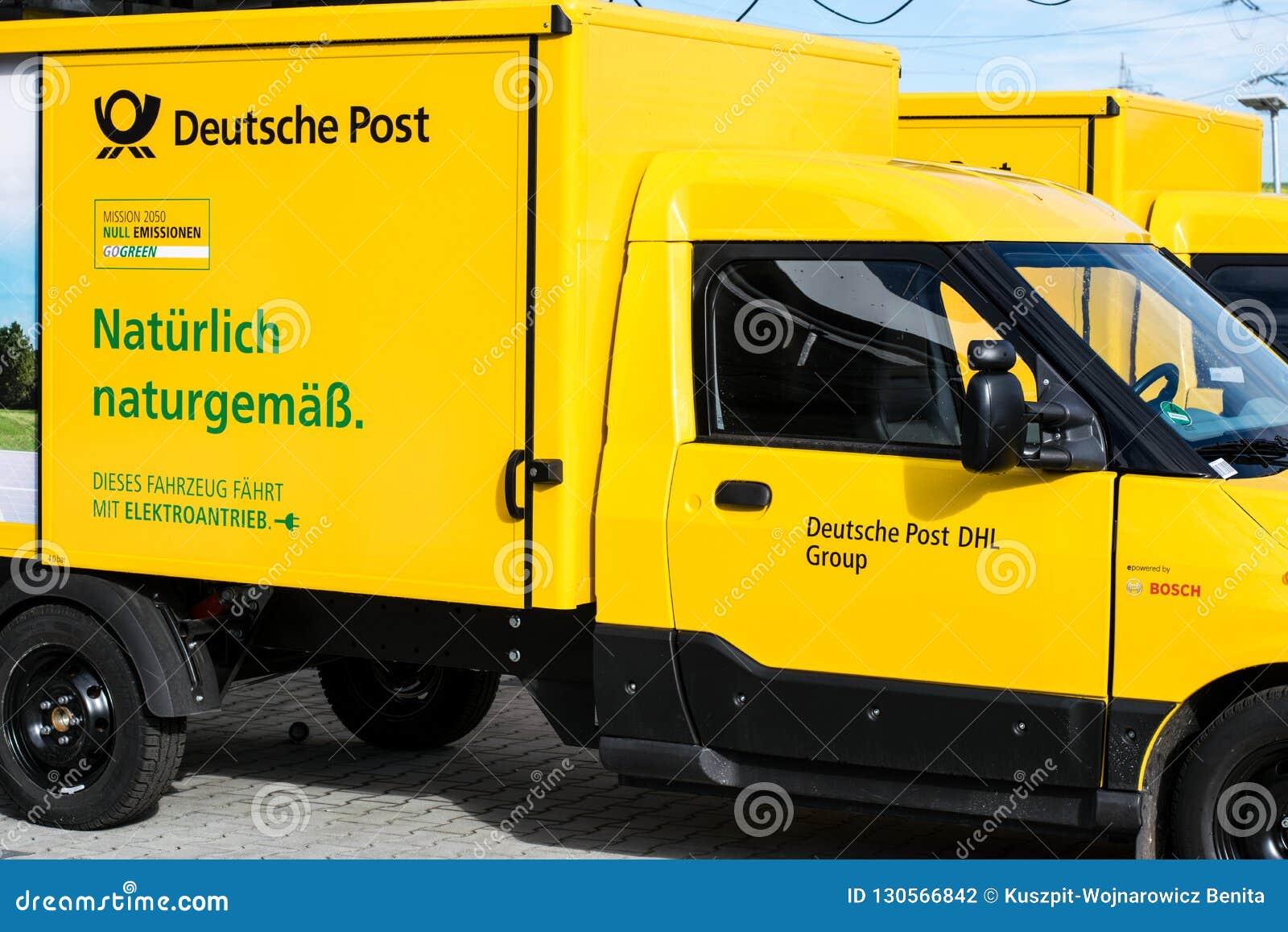 Γερμανική ταχυδρομική επιχείρηση πριν από τις διακοπές και τις ελλείψεις προσωπικού