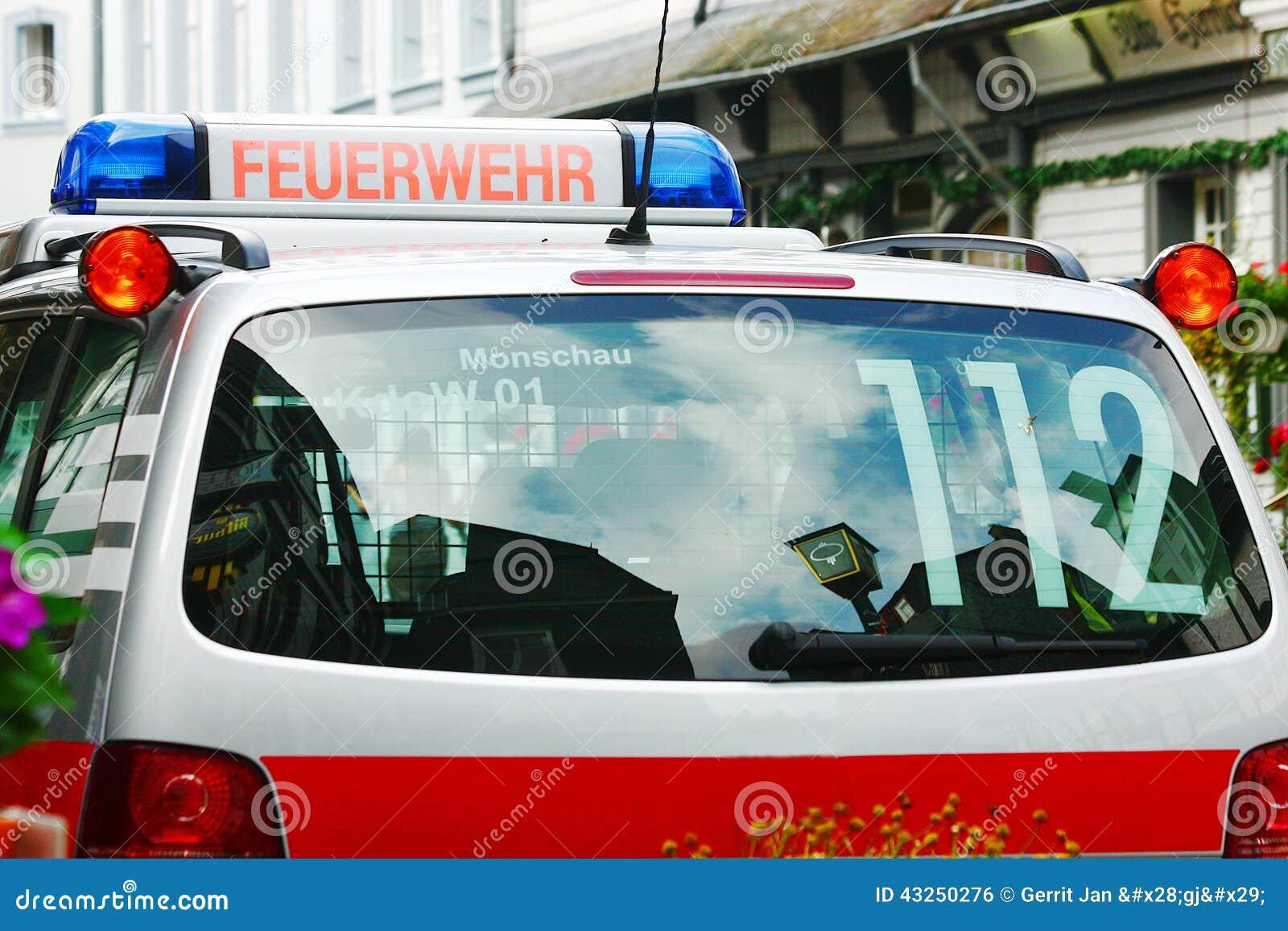 Γερμανικό αυτοκίνητο πυρκαγιά-ταξιαρχιών