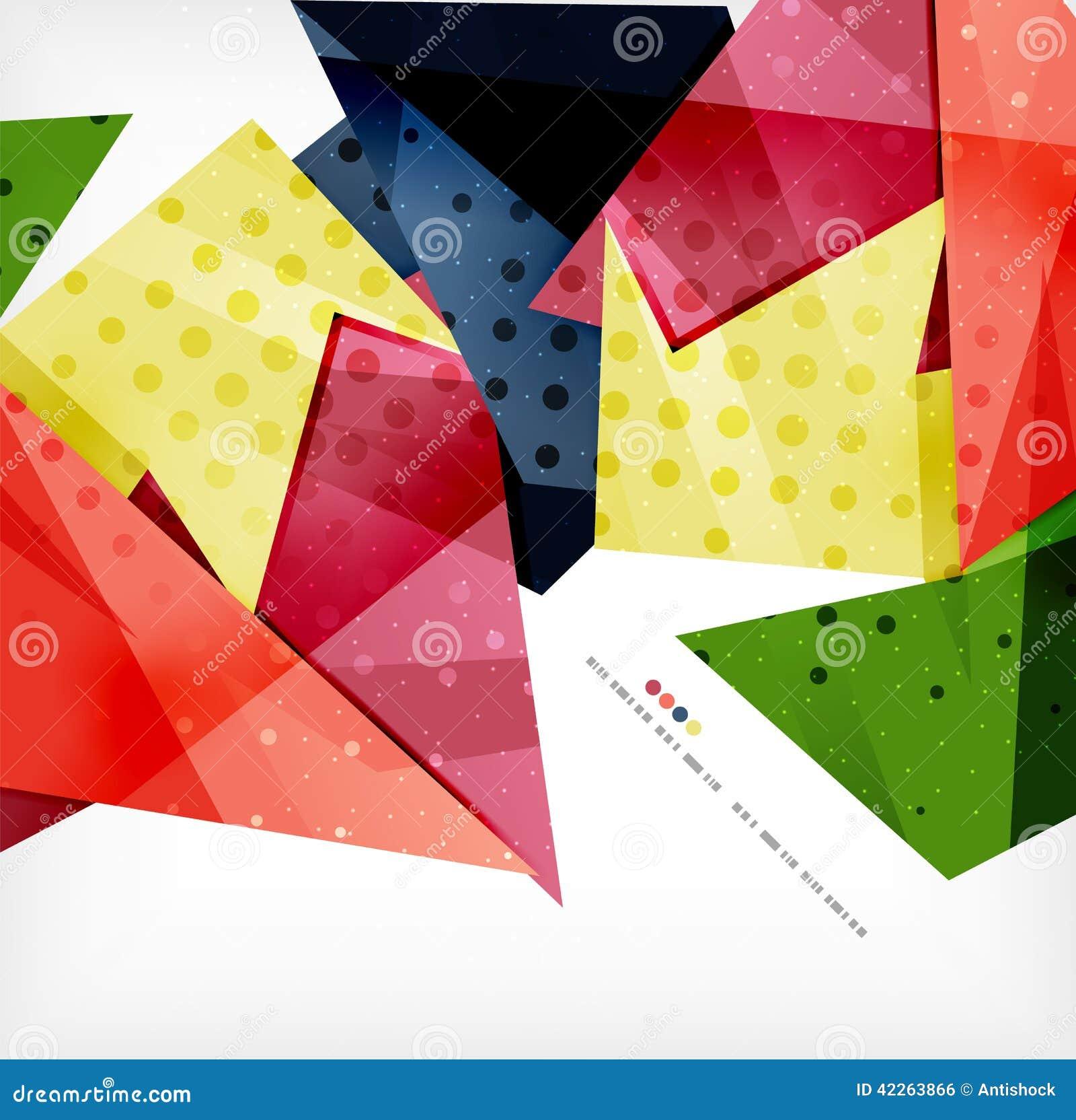 Γεωμετρικό αφηρημένο φουτουριστικό υπόβαθρο μορφής