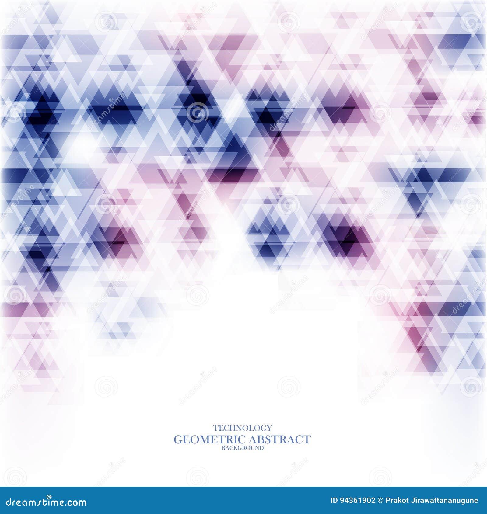 Γεωμετρικό τεχνολογικό ζωηρόχρωμο αφηρημένο διάνυσμα υποβάθρου
