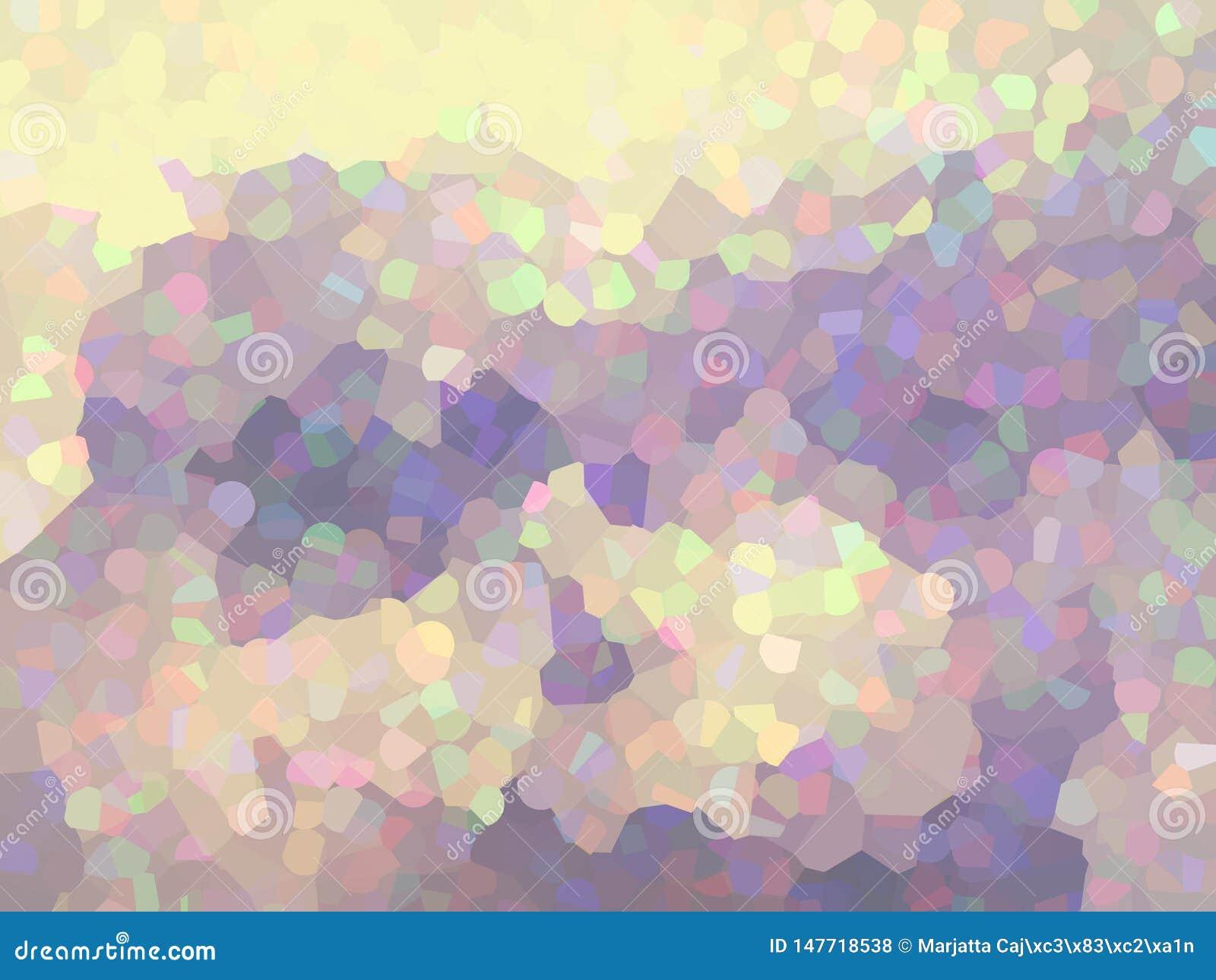 Γεωμετρικό, υπόβαθρο μωσαϊκών στα χρώματα κρητιδογραφιών