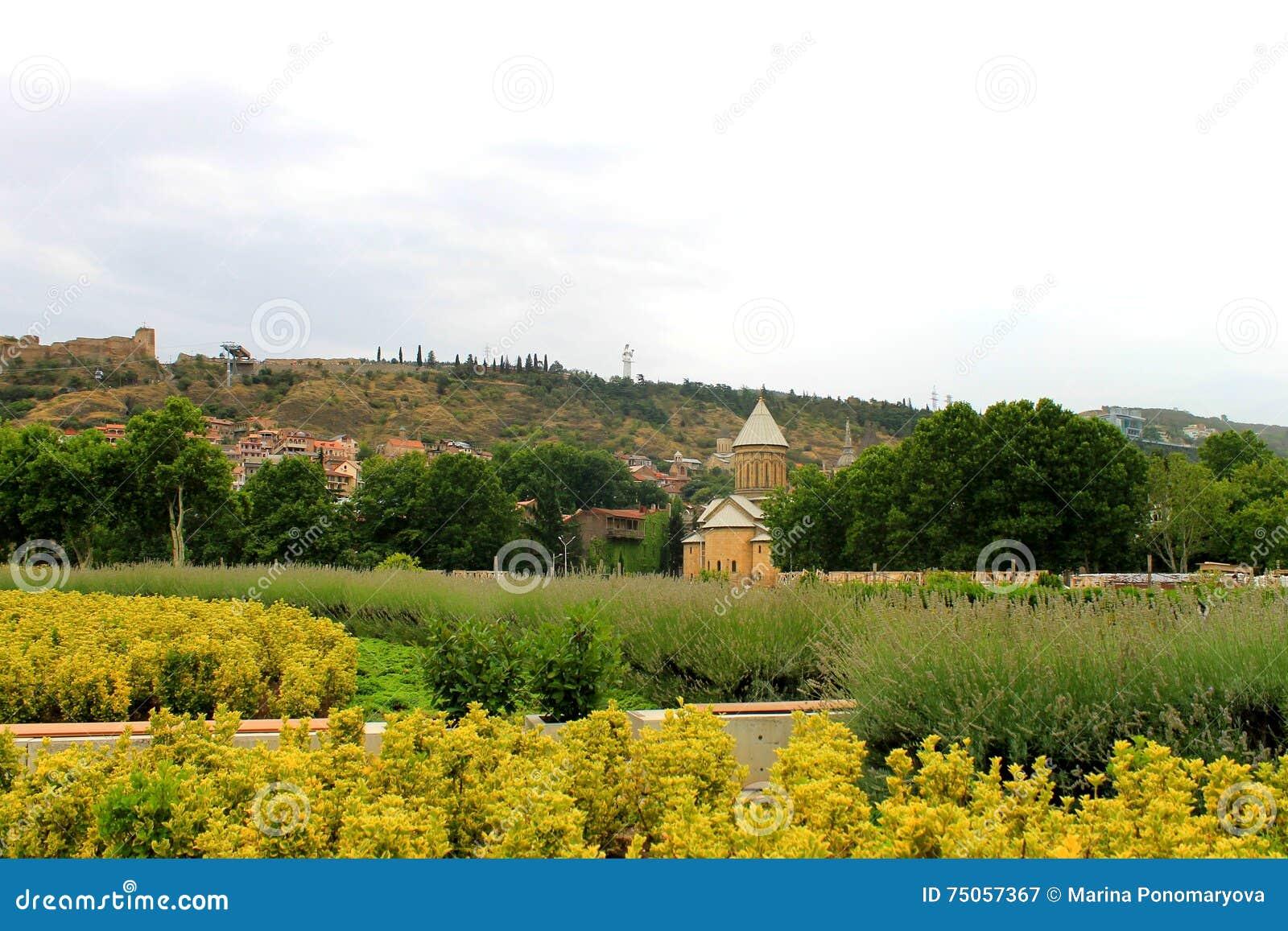 Γεωργία Το κέντρο του Tbilisi