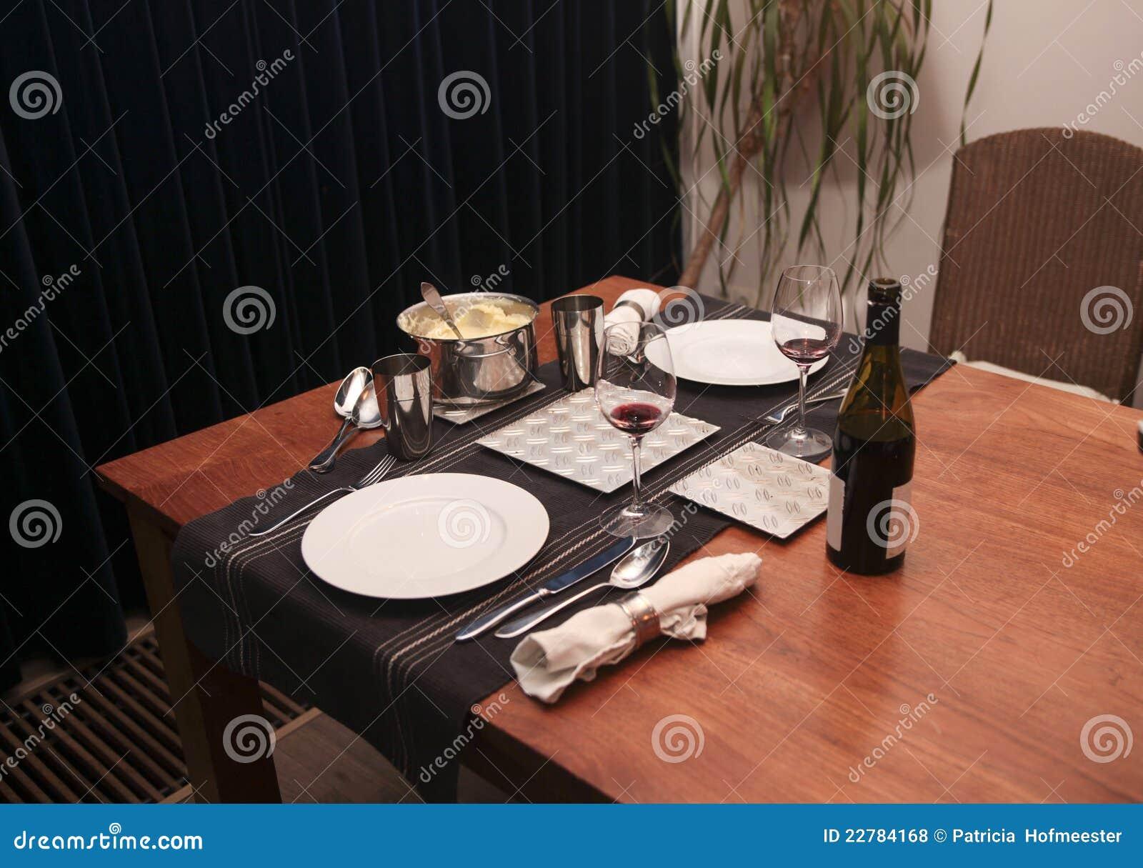 Γεύμα για δύο στο σπίτι
