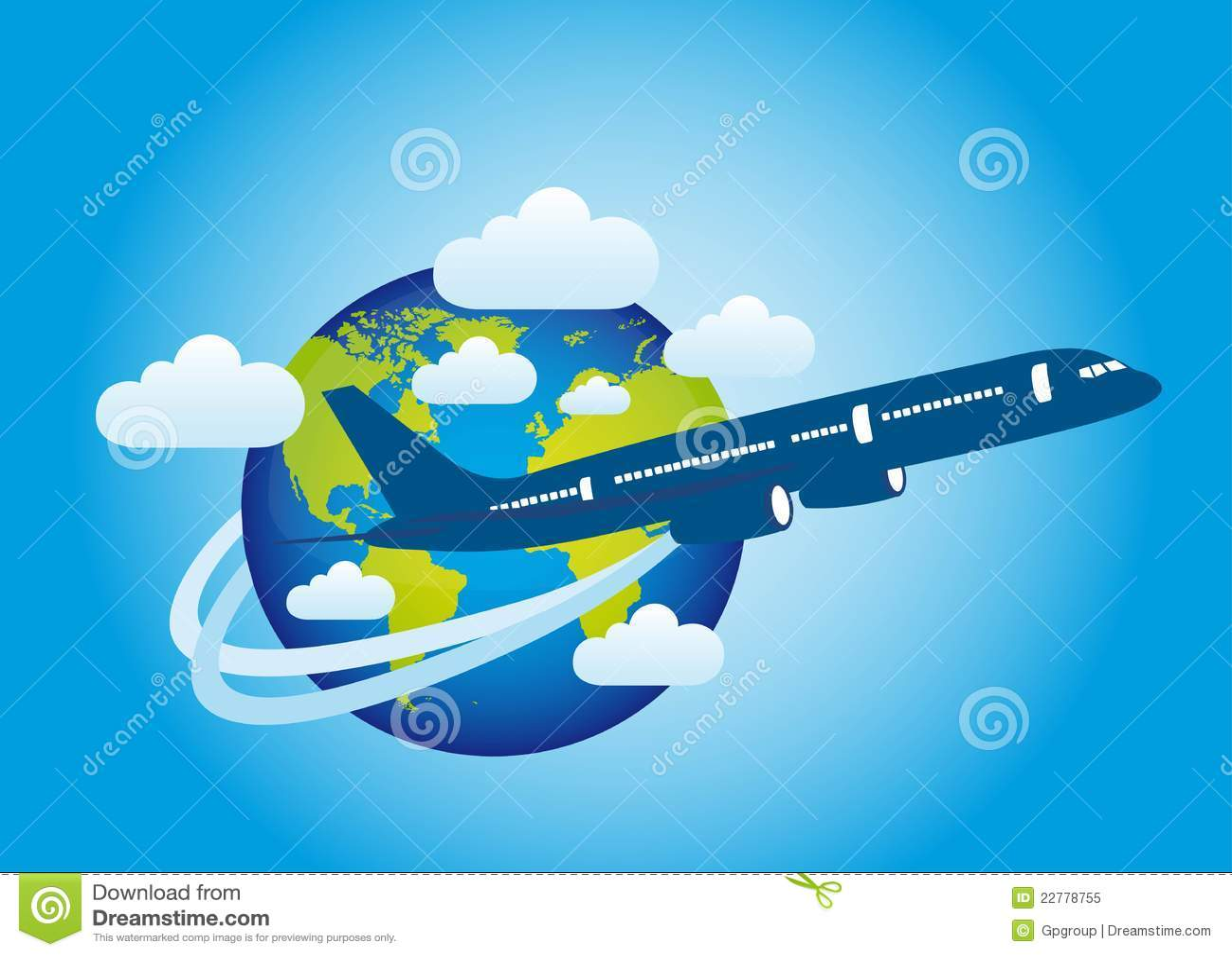 Γη και αεροπλάνο