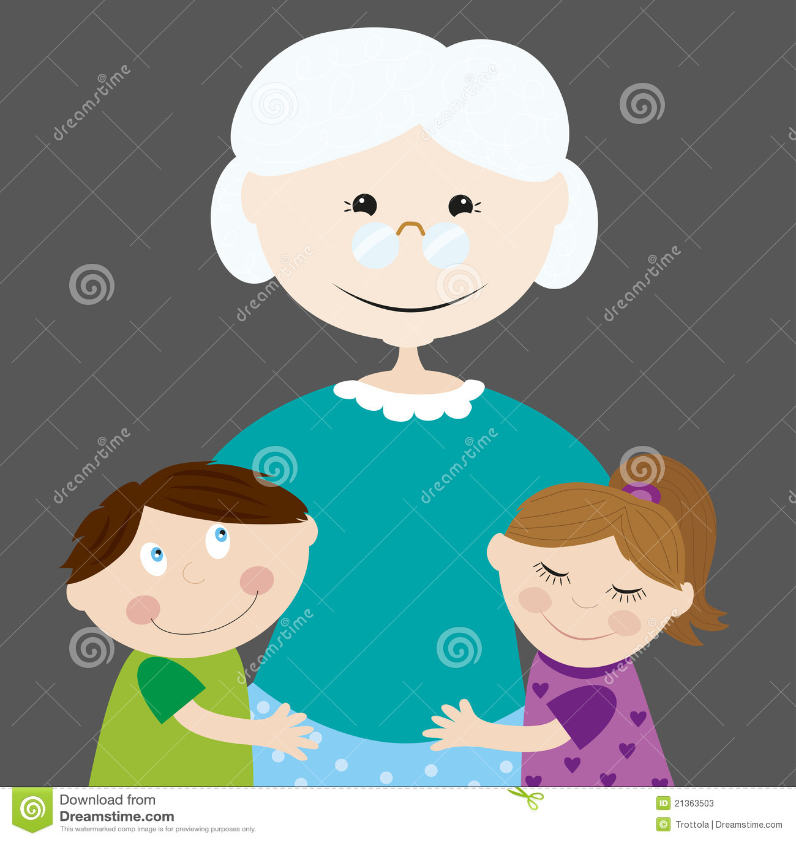 γιαγιά εγγονιών