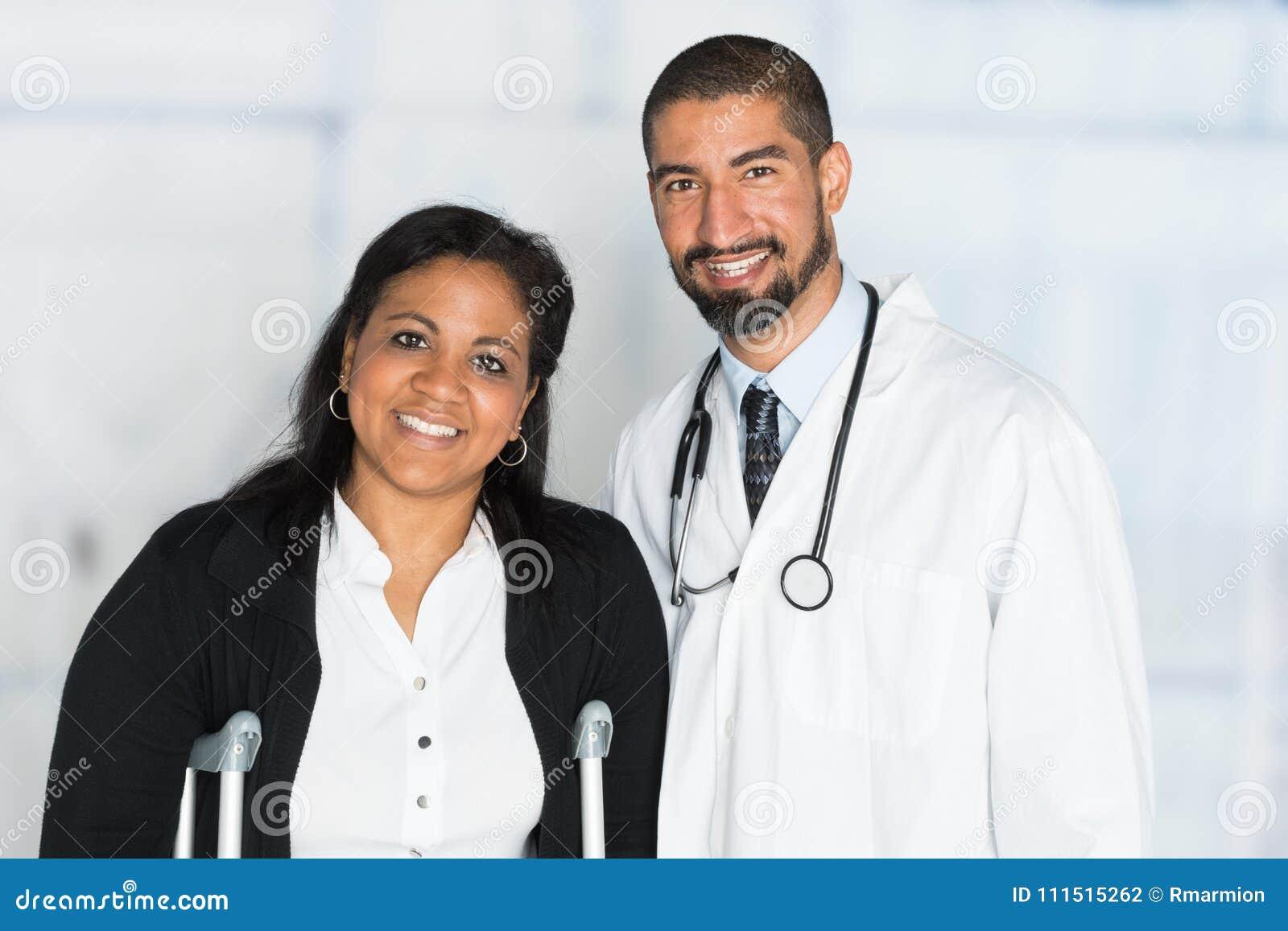 Γιατρός σε ένα νοσοκομείο