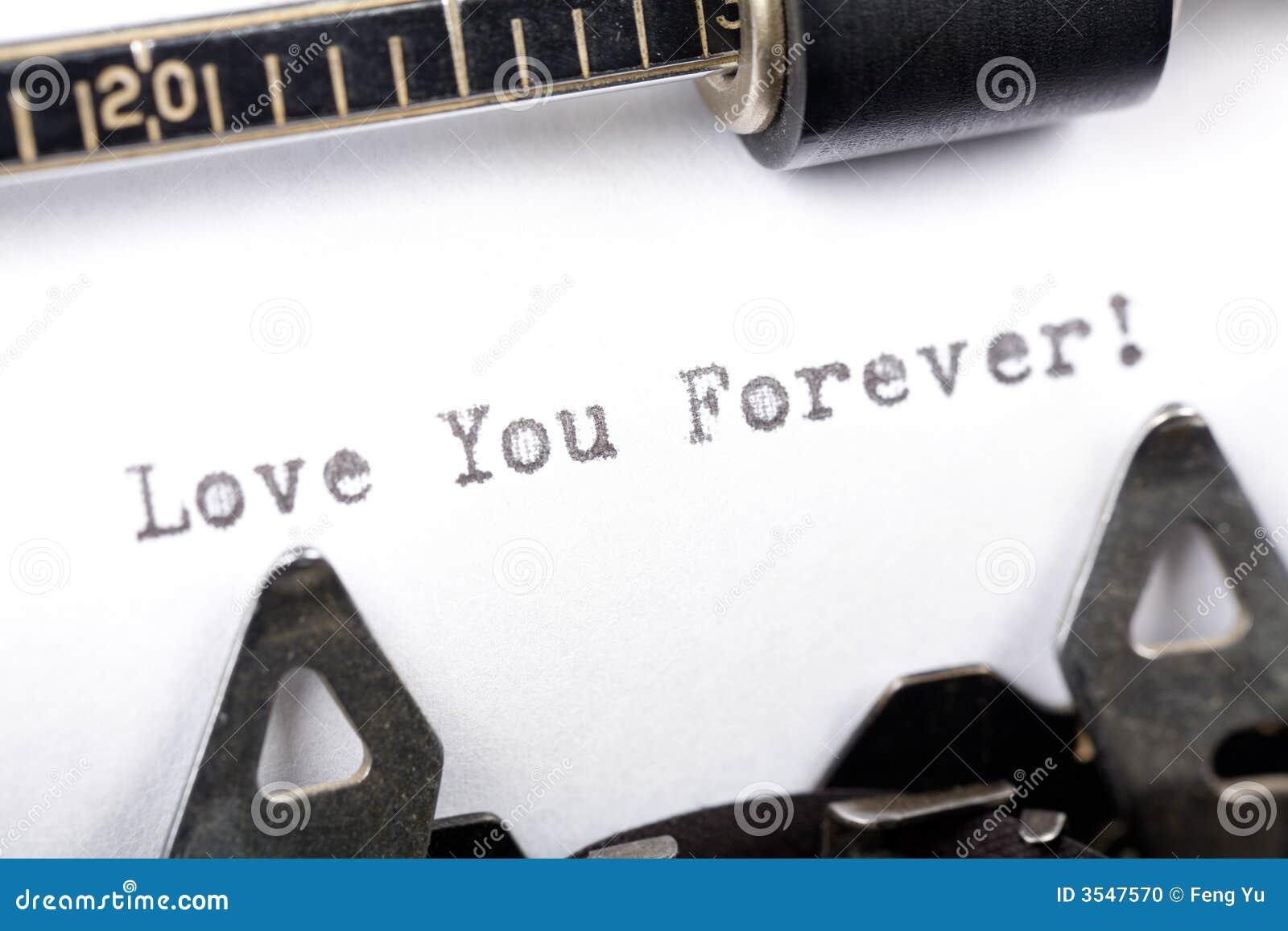 για πάντα αγάπη εσείς