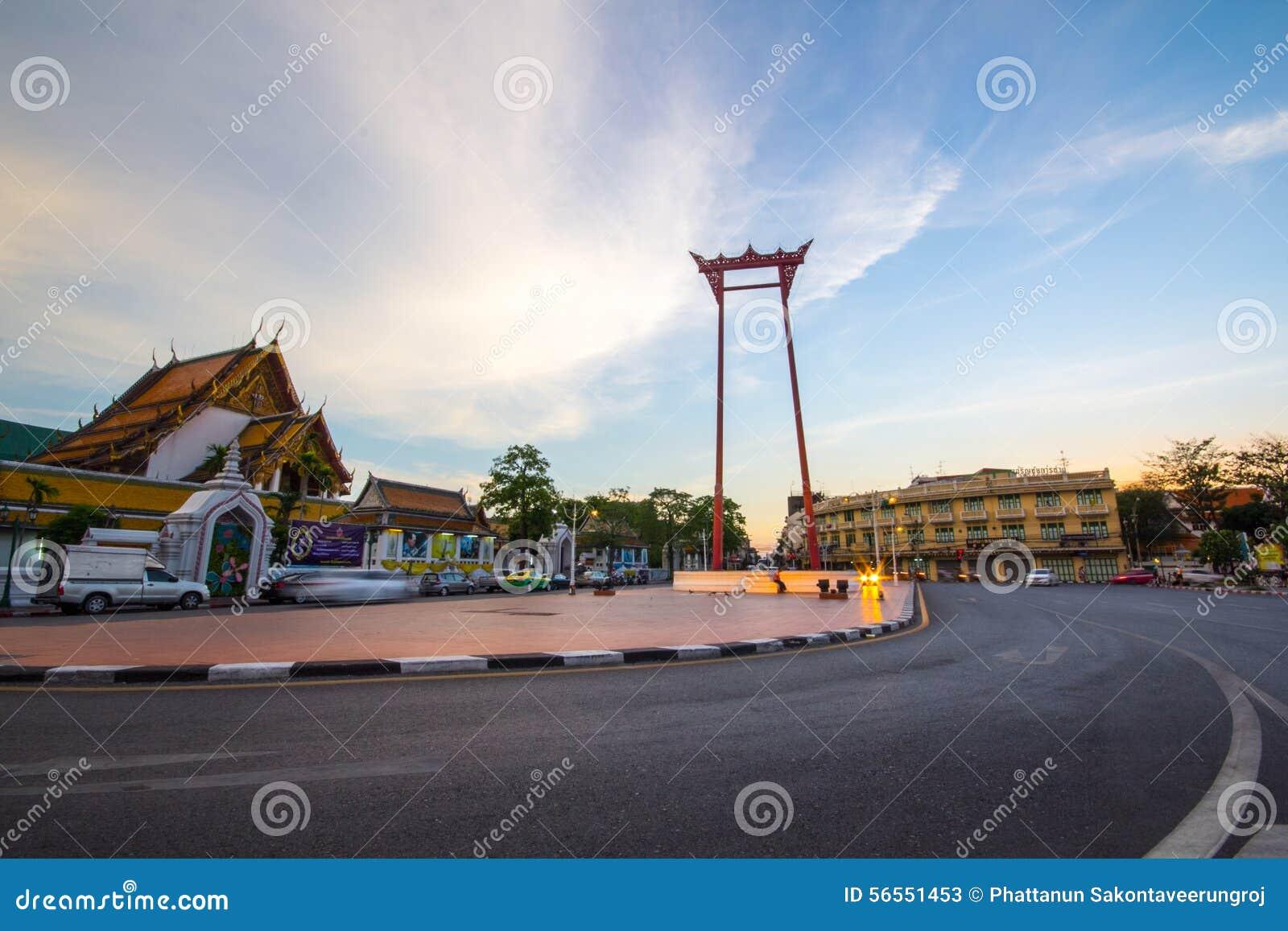 Download Γιγαντιαία ταλάντευση Ταϊλάνδη Εκδοτική Στοκ Εικόνες - εικόνα από ουρανός, γίγαντας: 56551453