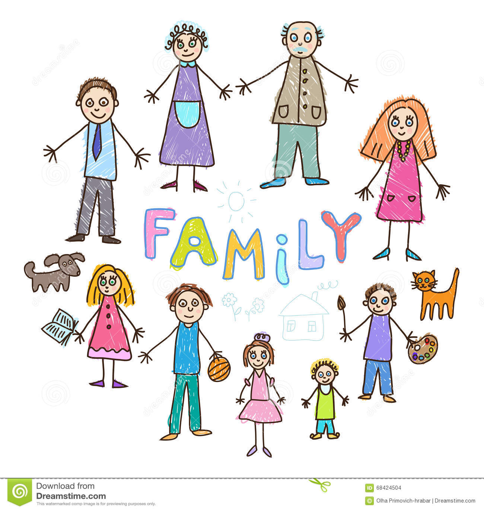 γιος μητέρων κατσικιών γιαγιάδων παππούδων οικογενειακών πατέρων σχεδίων μωρών daugther Οικογένεια