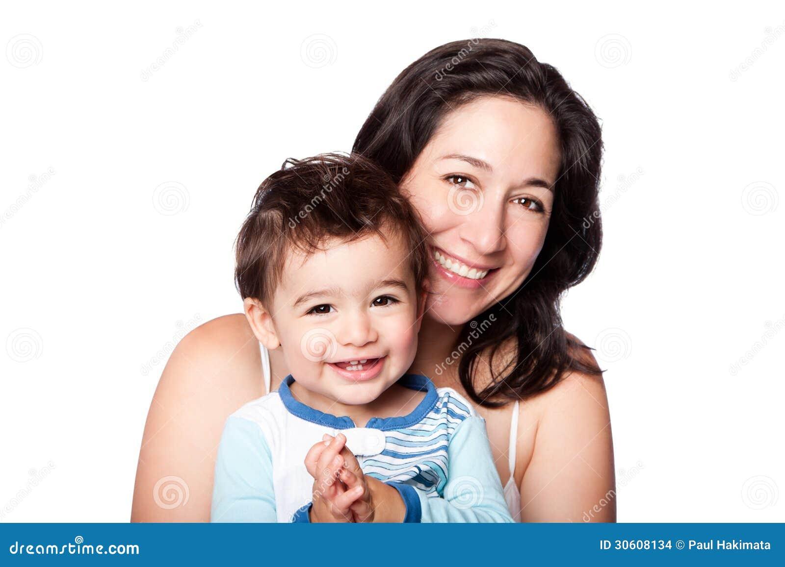 Γιος μικρών παιδιών μητέρων και μωρών