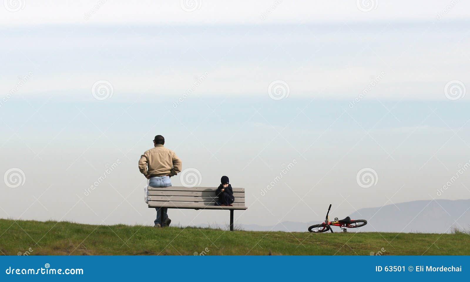 Download γιος πατέρων στοκ εικόνα. εικόνα από ειρηνικός, γιος, στιγμή - 63501