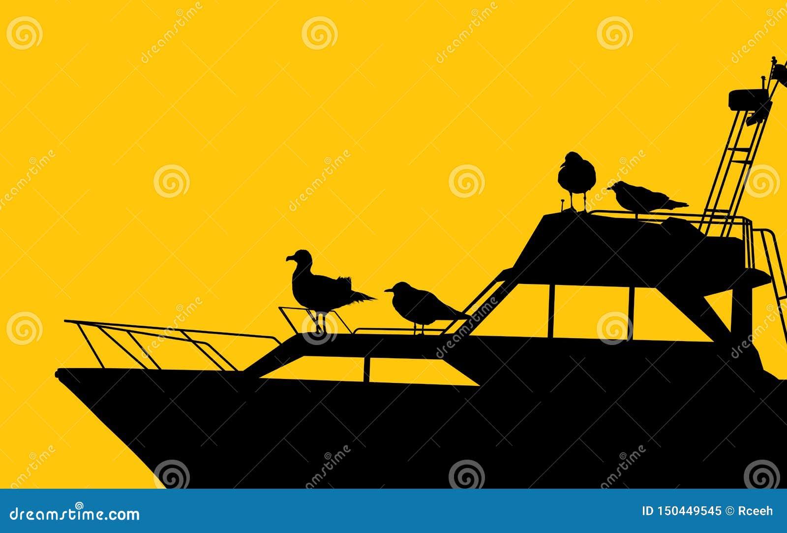 Γιοτ και seagulls