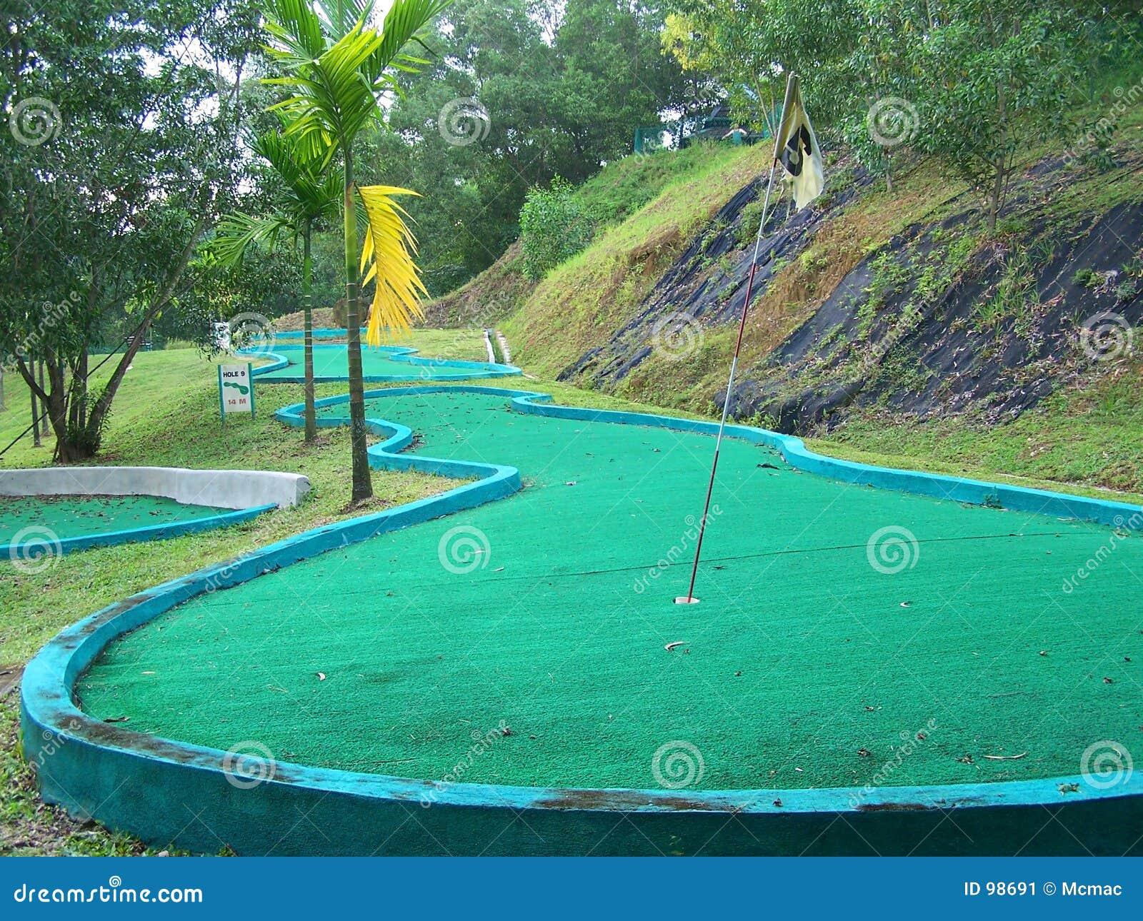 γκολφ σειράς μαθημάτων μίνι