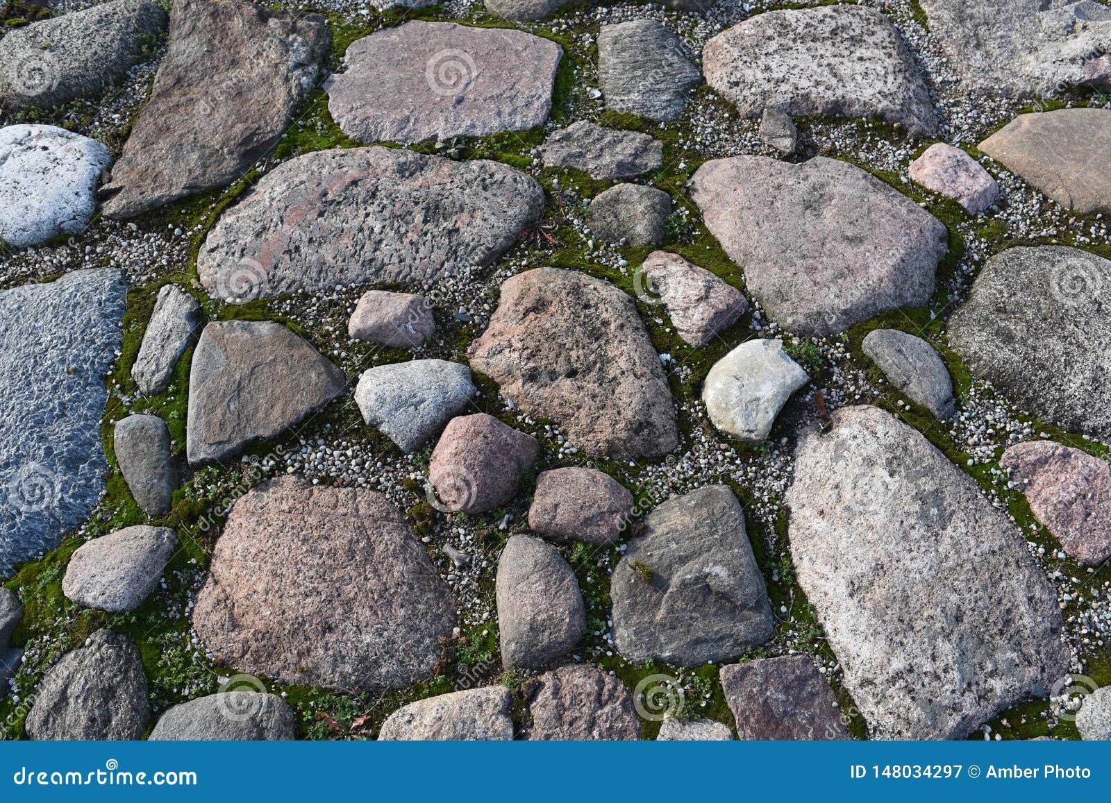 Γκρίζα ανώμαλη επίστρωση βράχου γρανίτη