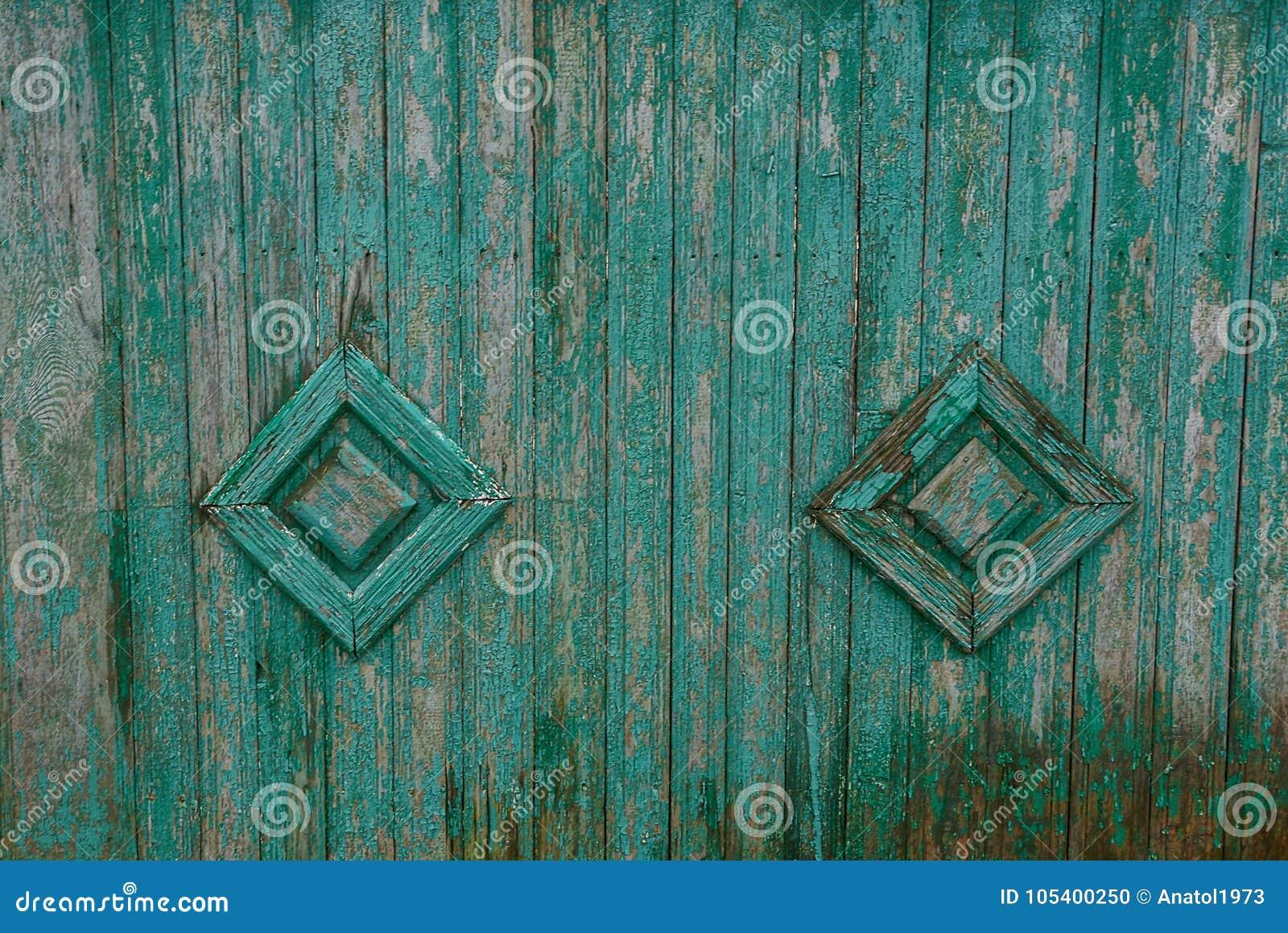 Download Γκρίζα πράσινη ξύλινη σύσταση των υγρών πινάκων φρακτών με το σχέδιο Στοκ Εικόνες - εικόνα από παλαιός, χρώμα: 105400250