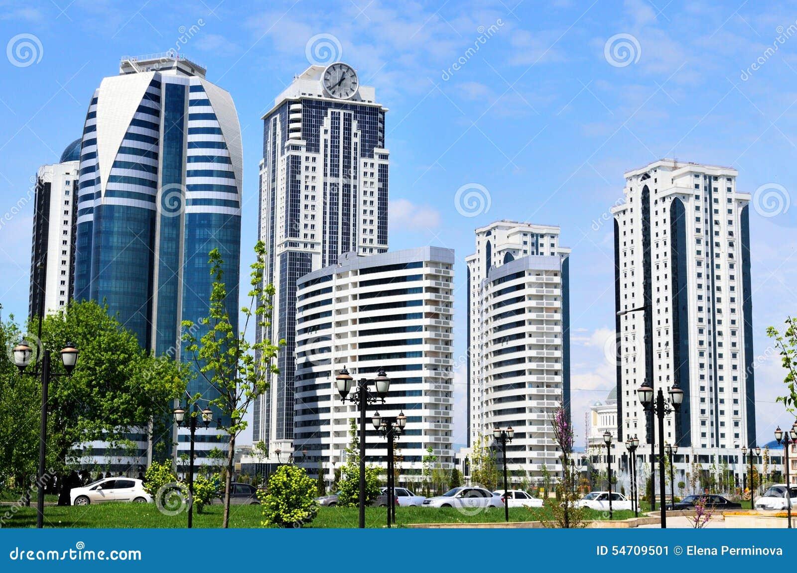 Γκρόζνυ, η πρωτεύουσα της τσετσένιας Δημοκρατίας