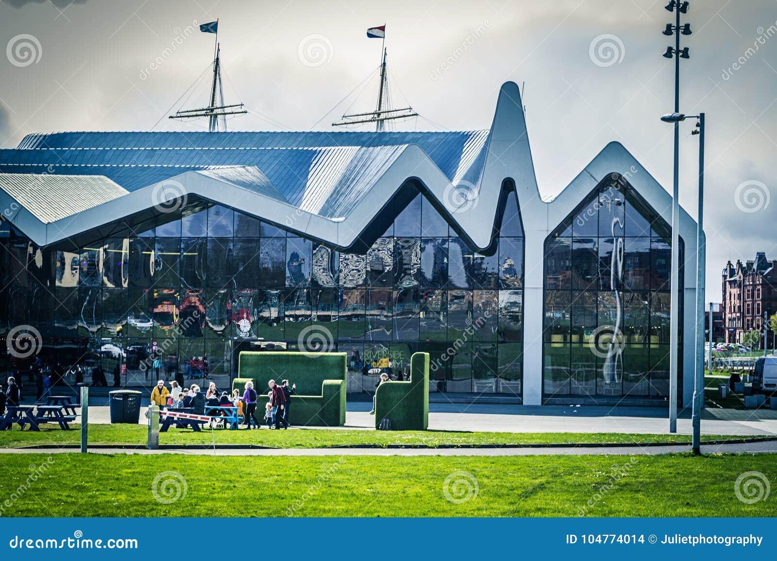 Γλασκώβη, Σκωτία το μουσείο όχθεων ποταμού, Ηνωμένο Βασίλειο