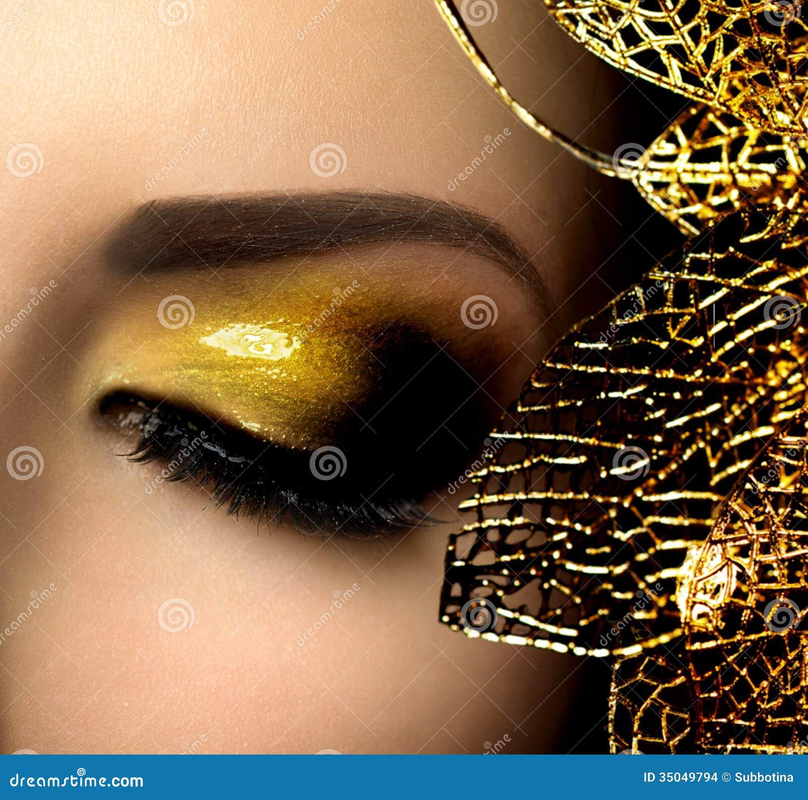 Γοητεία Makeup μόδας