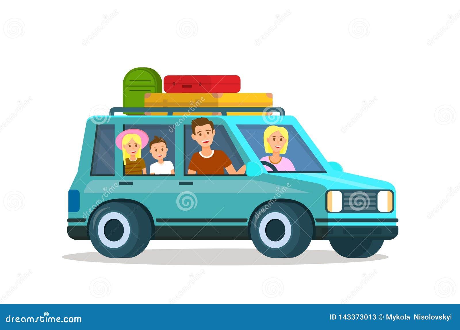 Γονείς που ταξιδεύουν με τα παιδιά από κοινού Οικογενειακό ταξίδι