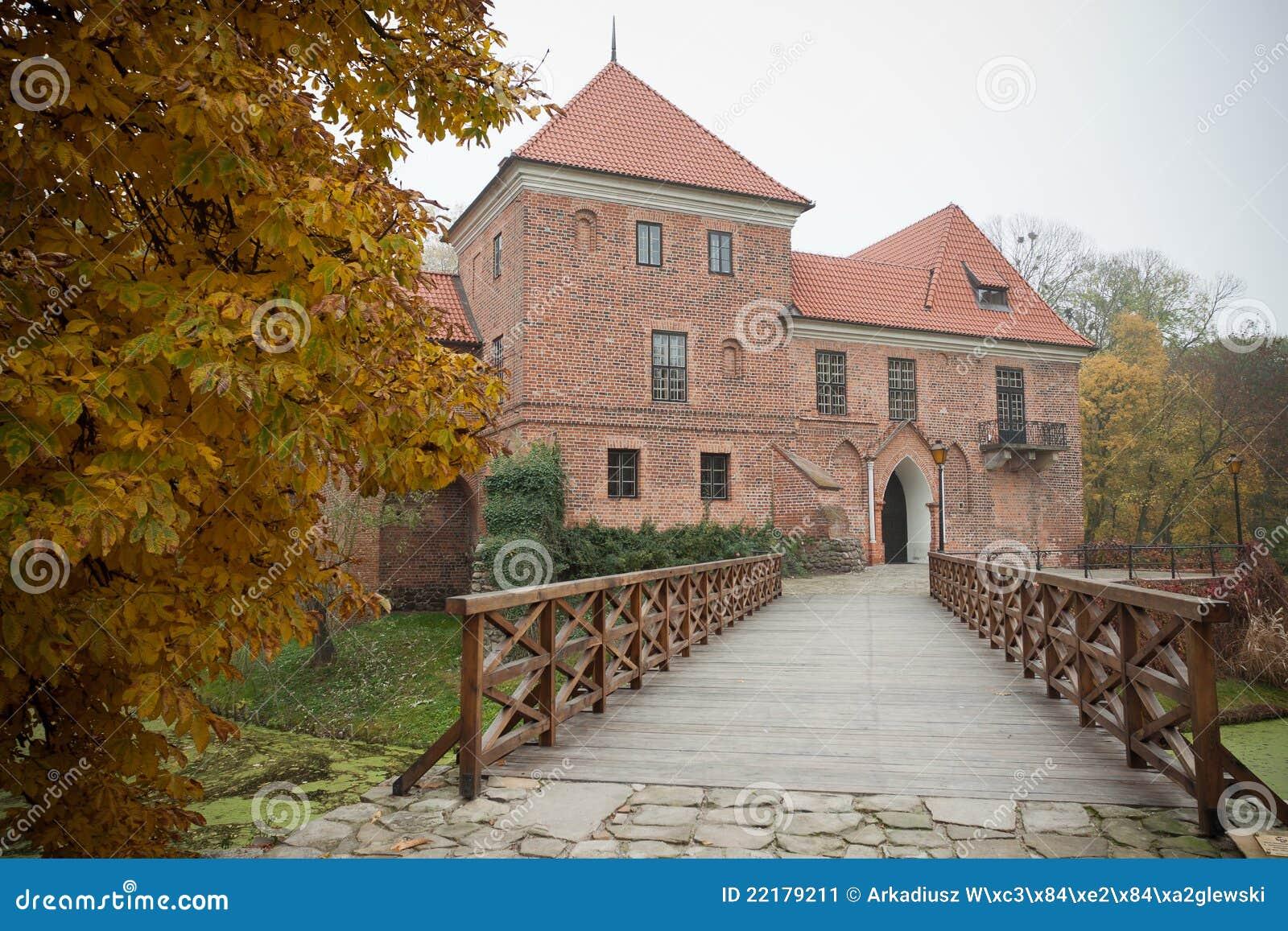 γοτθικό oporow Πολωνία κάστρων