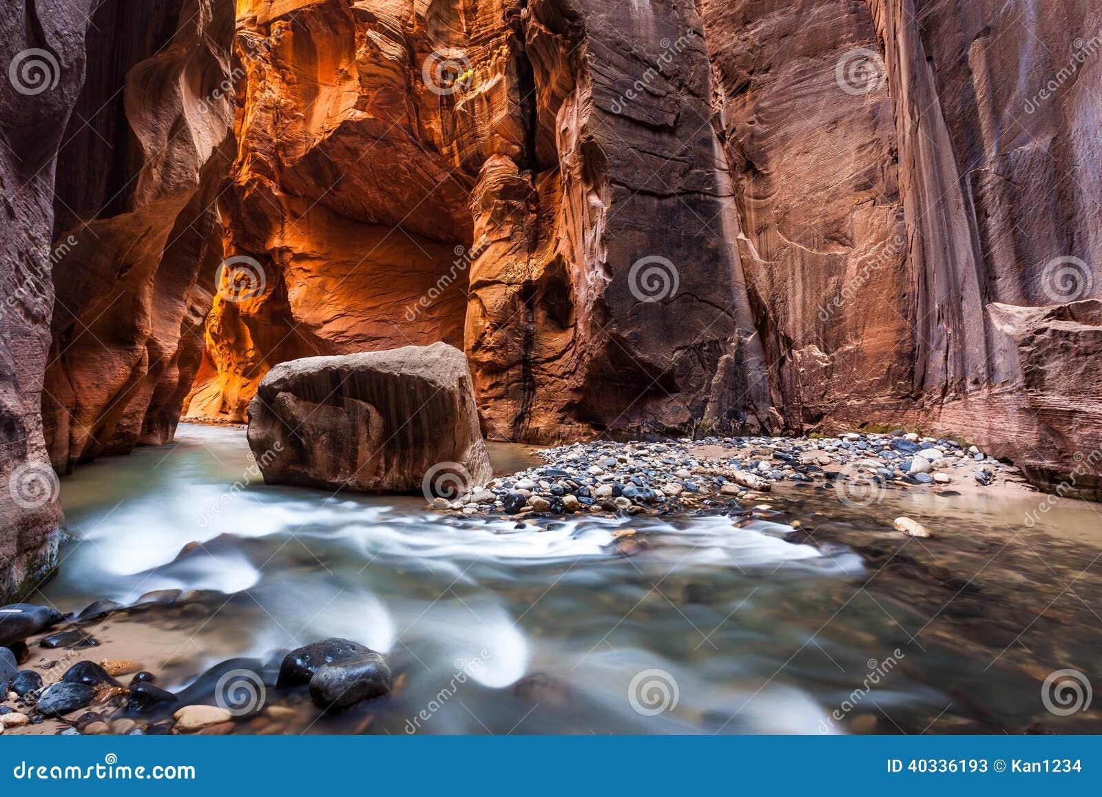 Γουώλ Στρητ στενεύει, εθνικό πάρκο Zion, Γιούτα