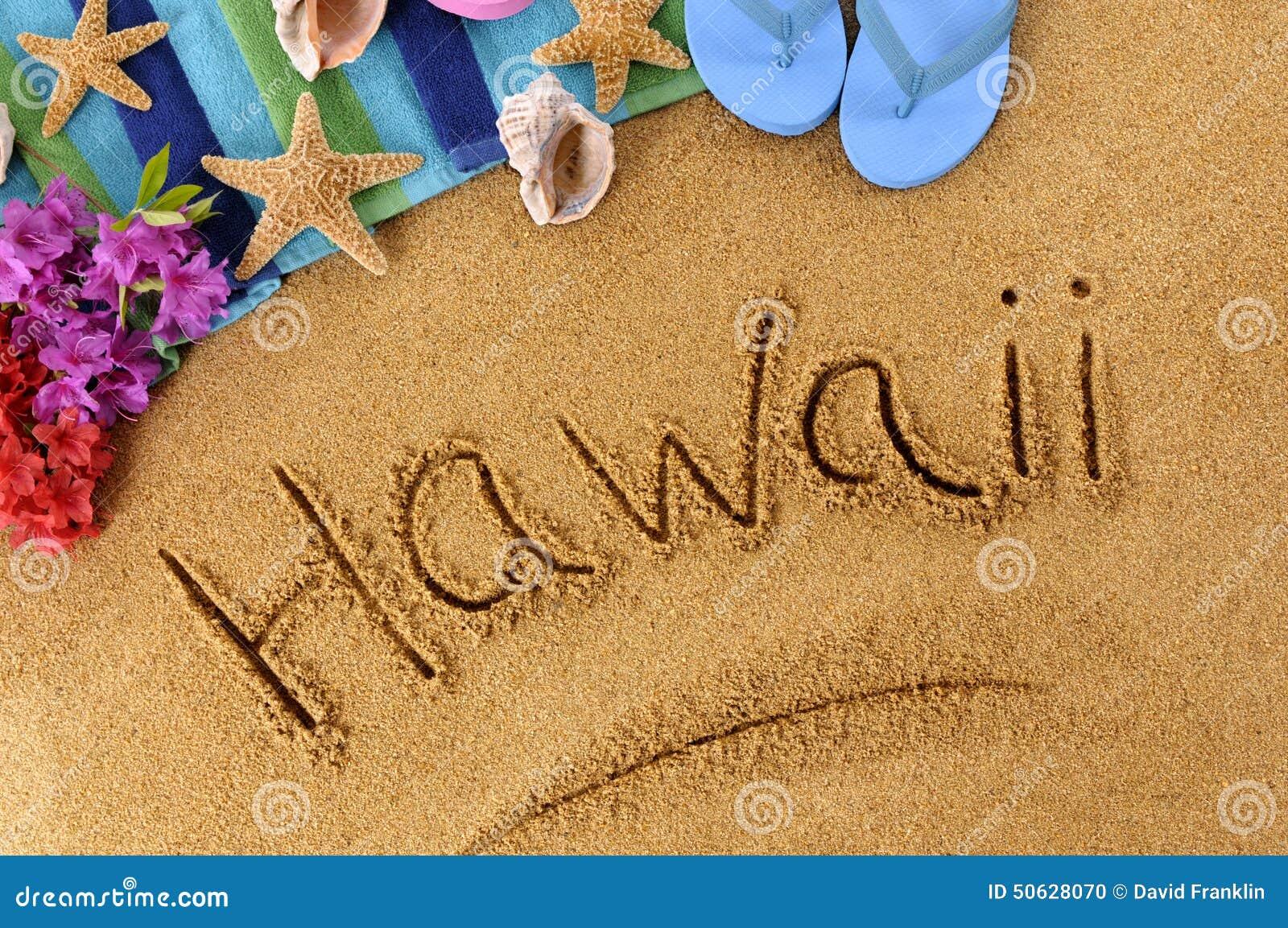 Γράψιμο παραλιών της Χαβάης