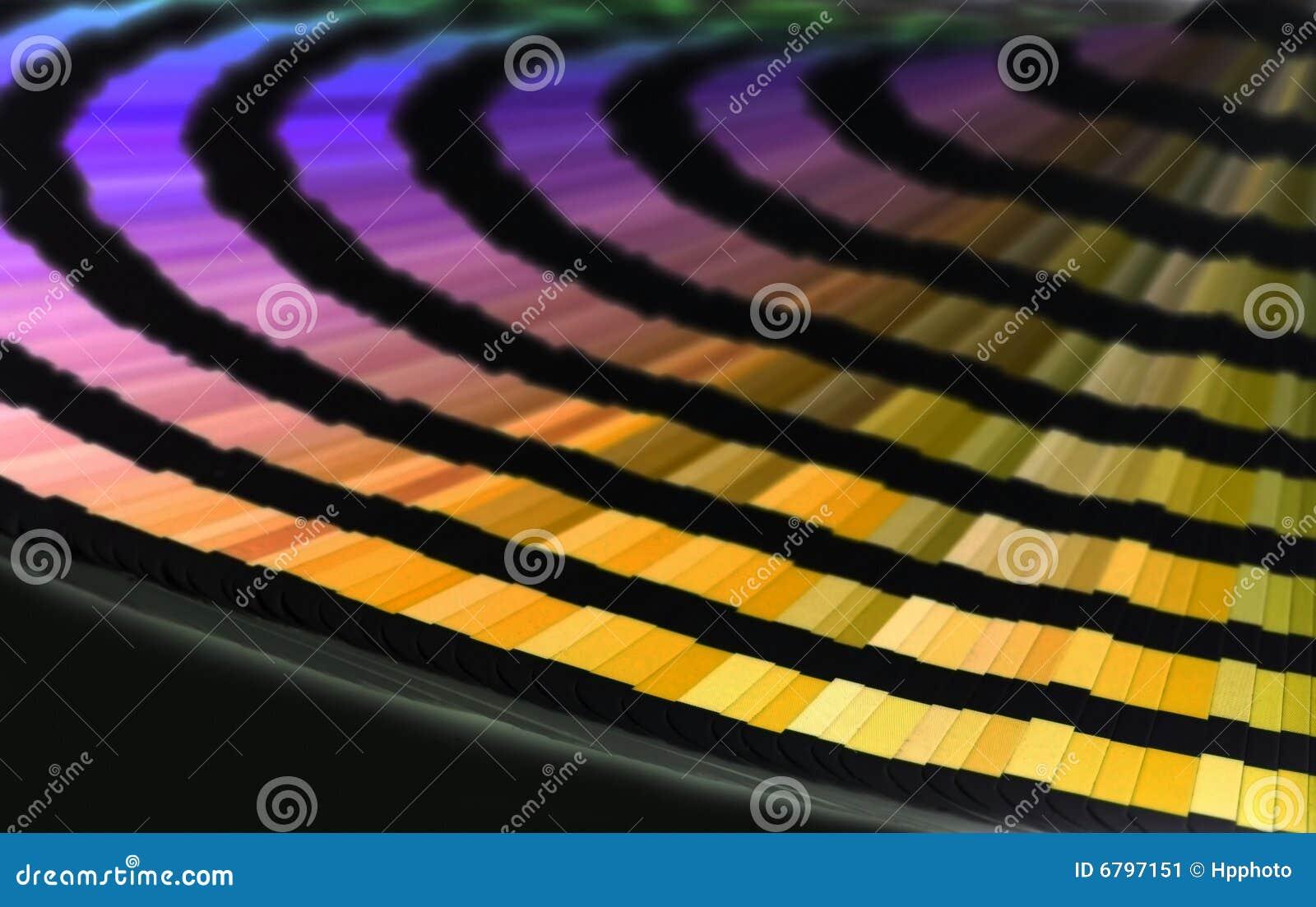 γραμμές χρώματος