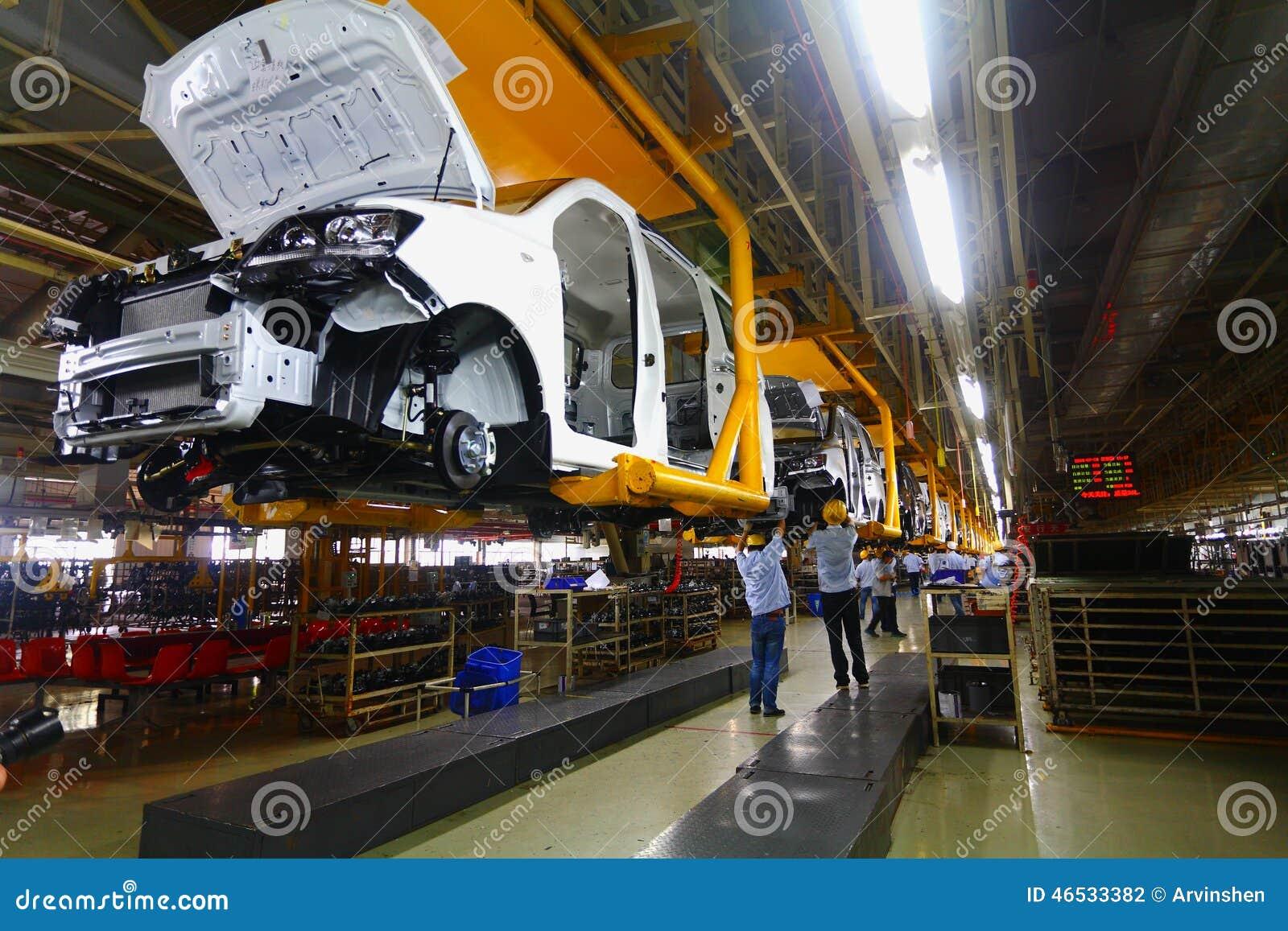 Γραμμή παραγωγής αυτοκινήτων
