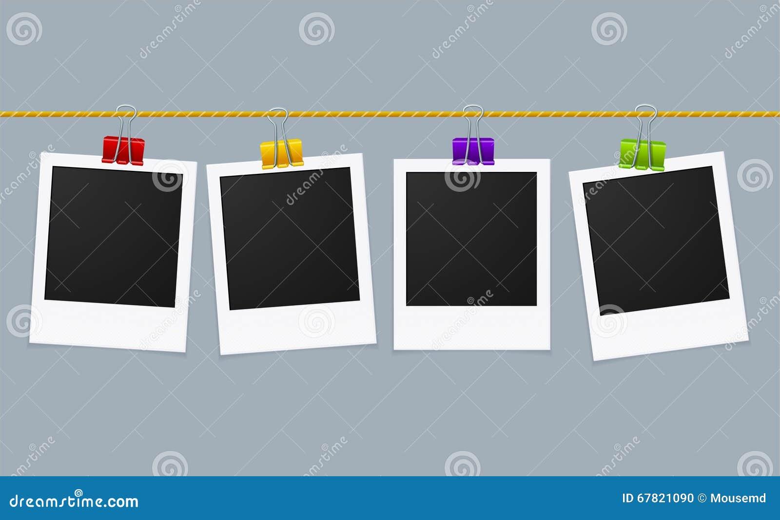 Γραμμή πλαισίων φωτογραφιών διάνυσμα