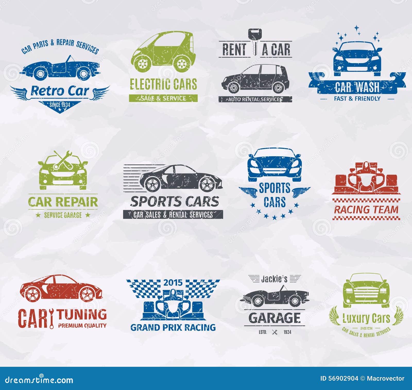 Γραμματόσημα λογότυπων αυτοκινήτων