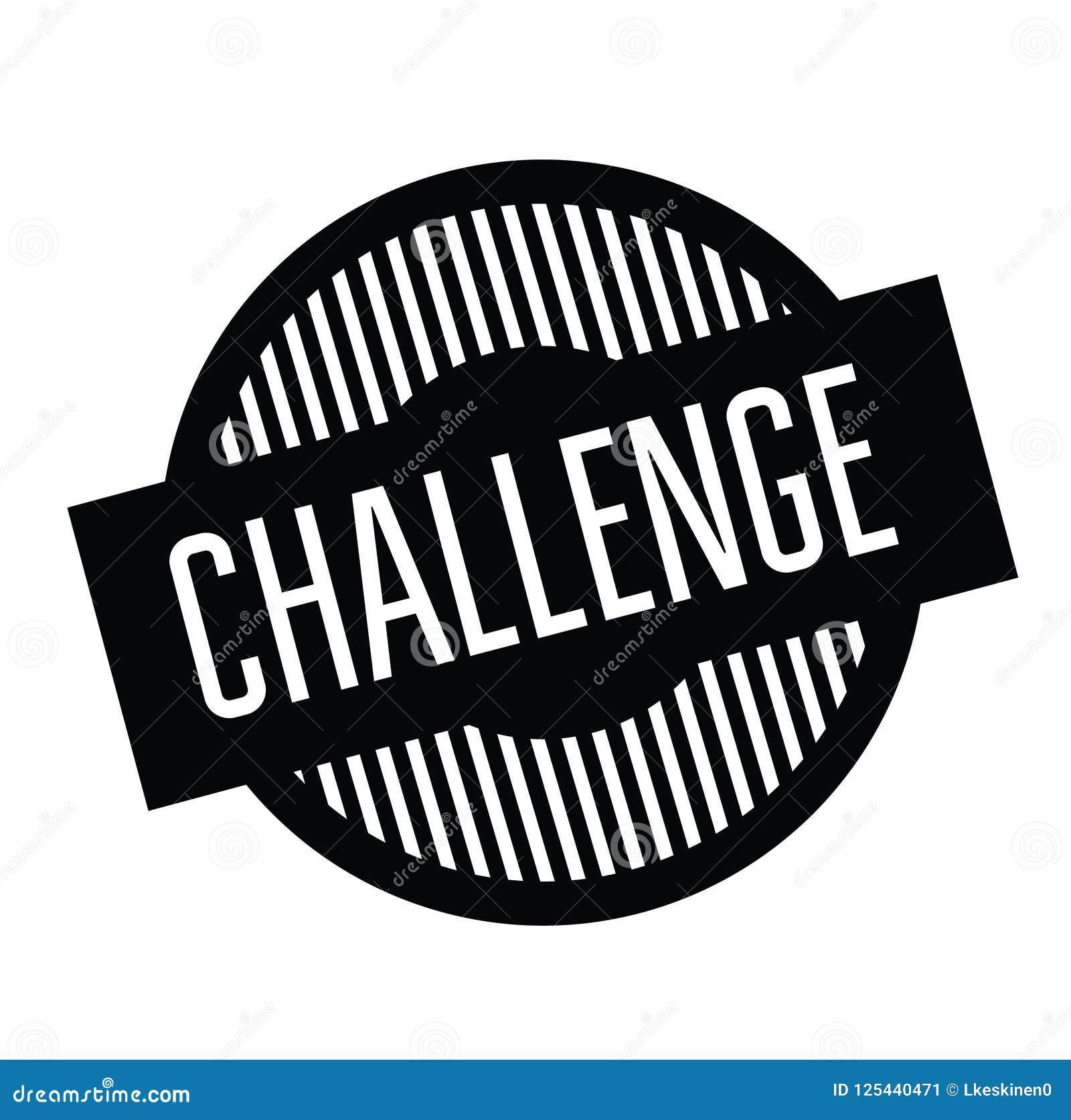 Γραμματόσημο πρόκλησης στο λευκό