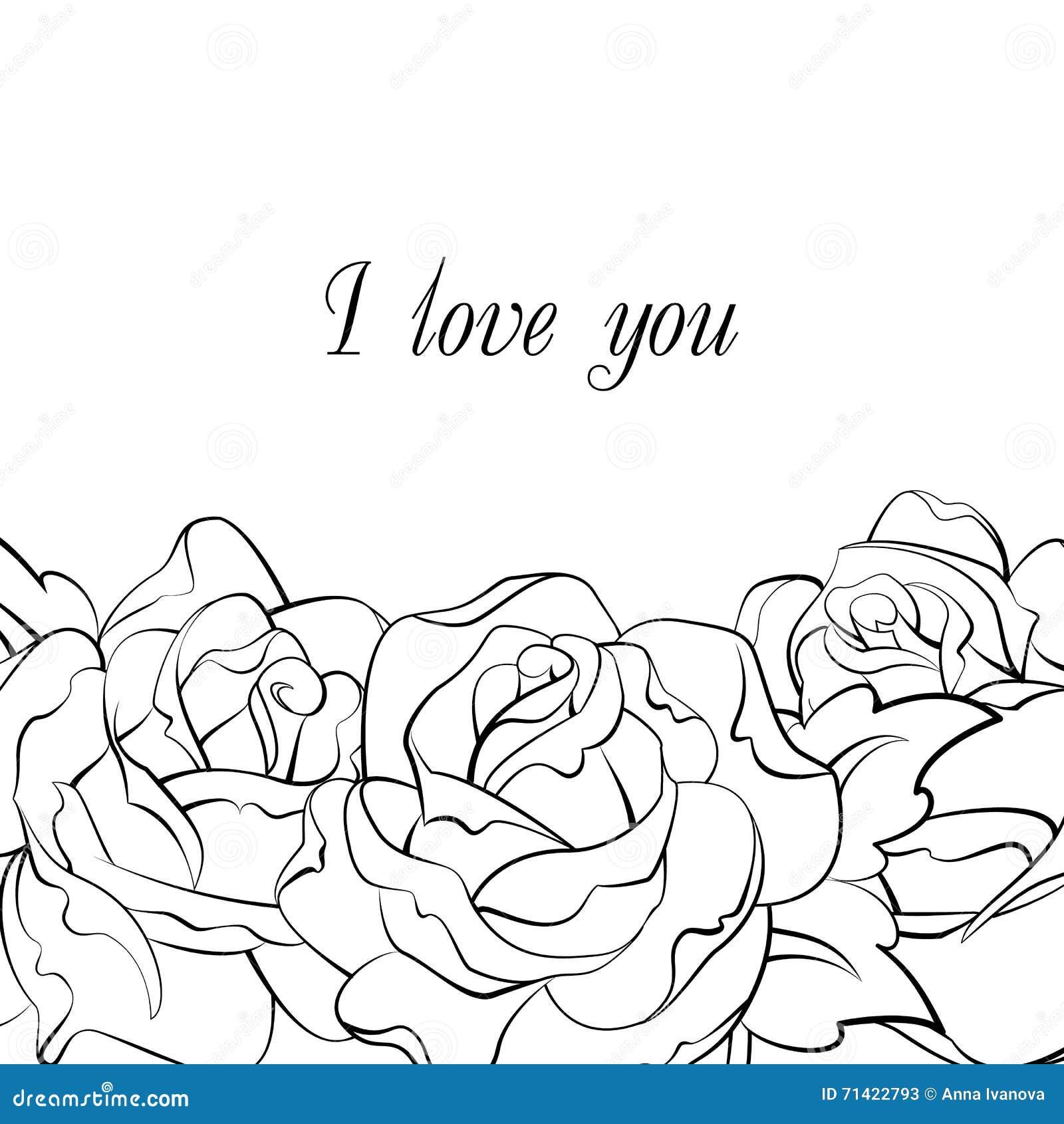 Γραπτή κάρτα τριαντάφυλλων