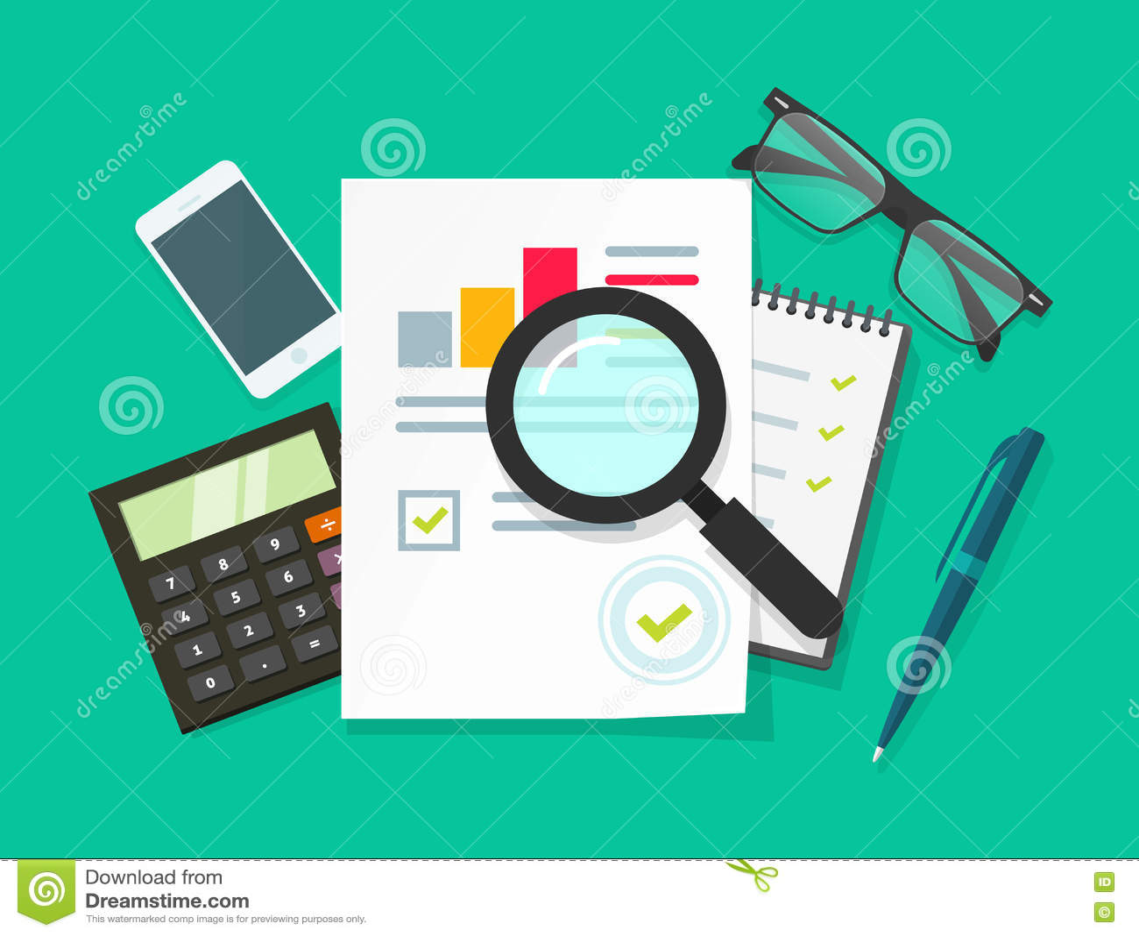 Γραφείο εργασίας ελεγκτών, λογιστική επιχειρησιακή έρευνα, οικονομικός λογιστικός έλεγχος, φορολογική έκθεση