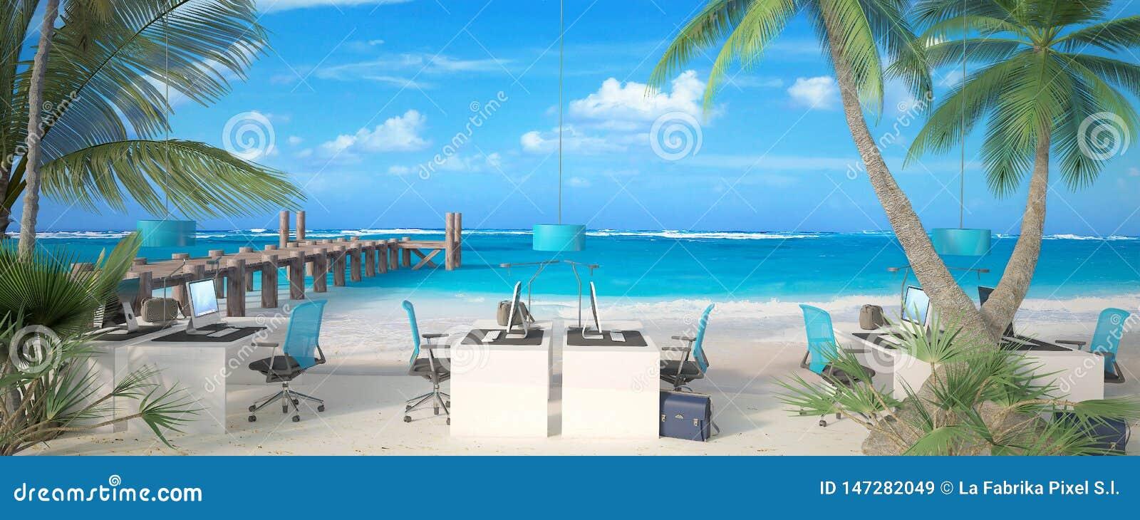 Γραφείο στην παραλία