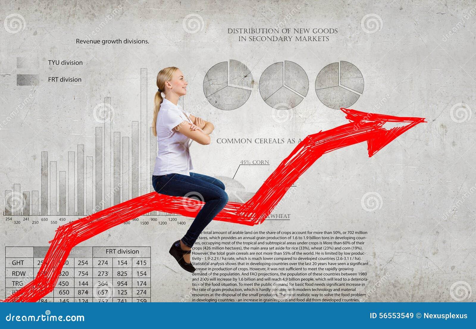 Download Γραφική παράσταση γύρου επιχειρηματιών Στοκ Εικόνα - εικόνα από αύξηση, άνοδος: 56553549