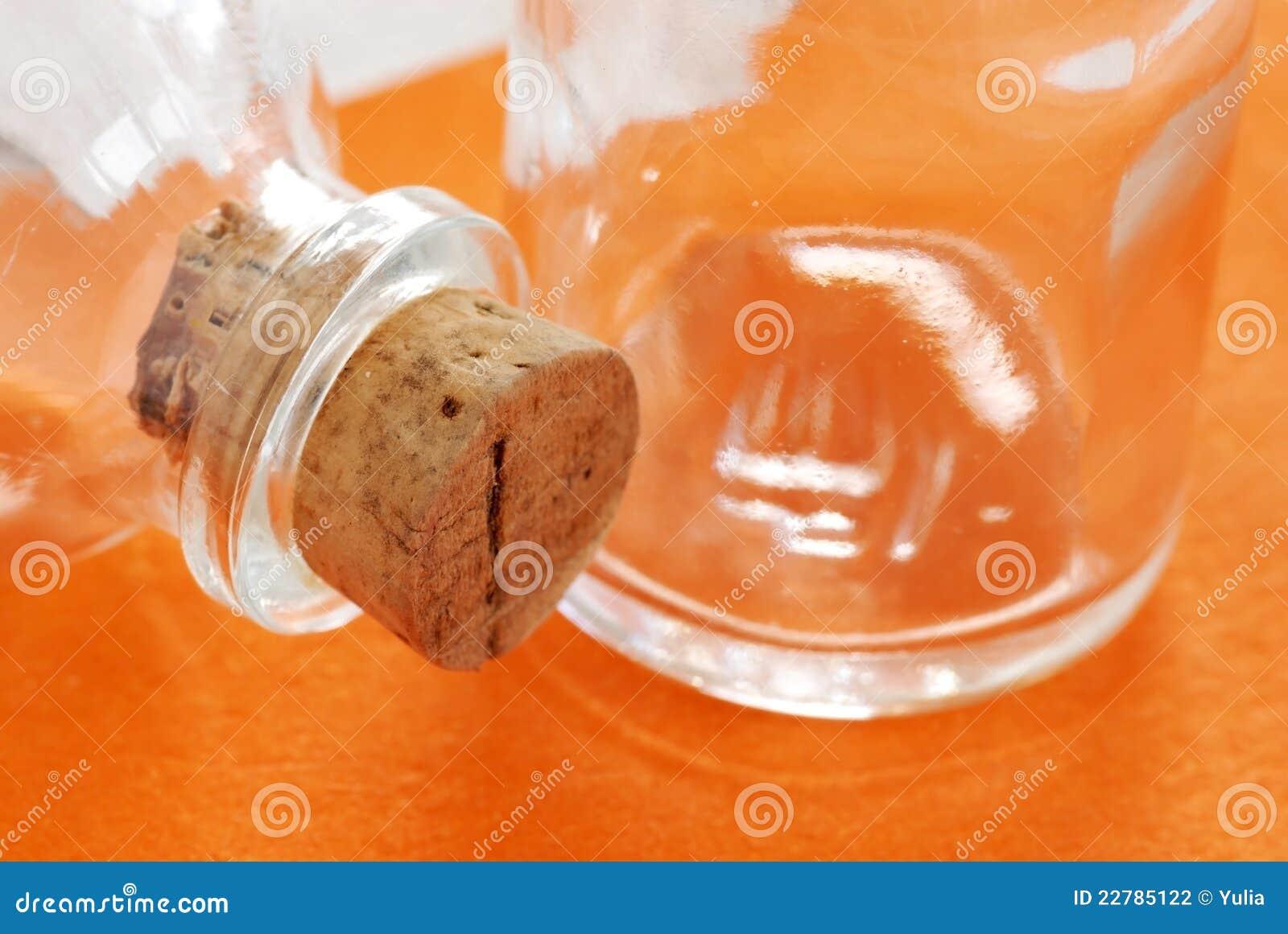 γυαλί μπουκαλιών δύο