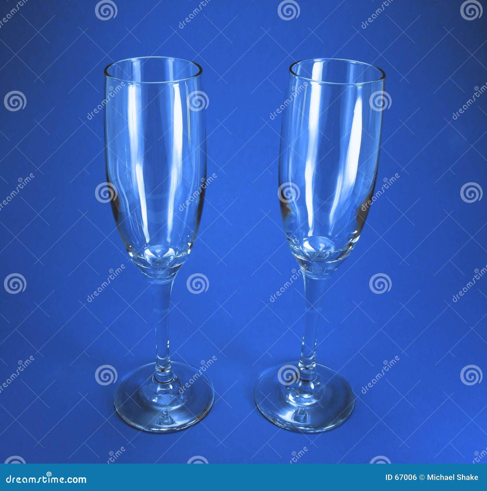 γυαλιά δύο κρασί