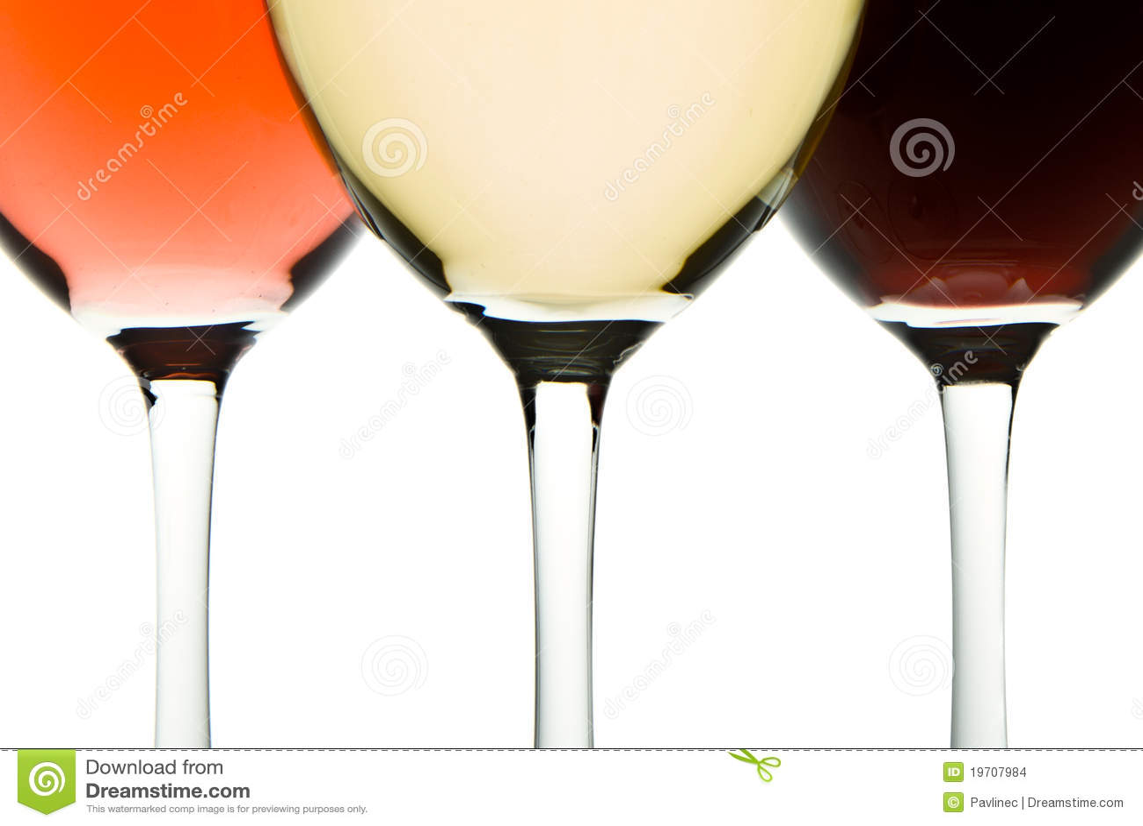 γυαλιά τρία κρασί