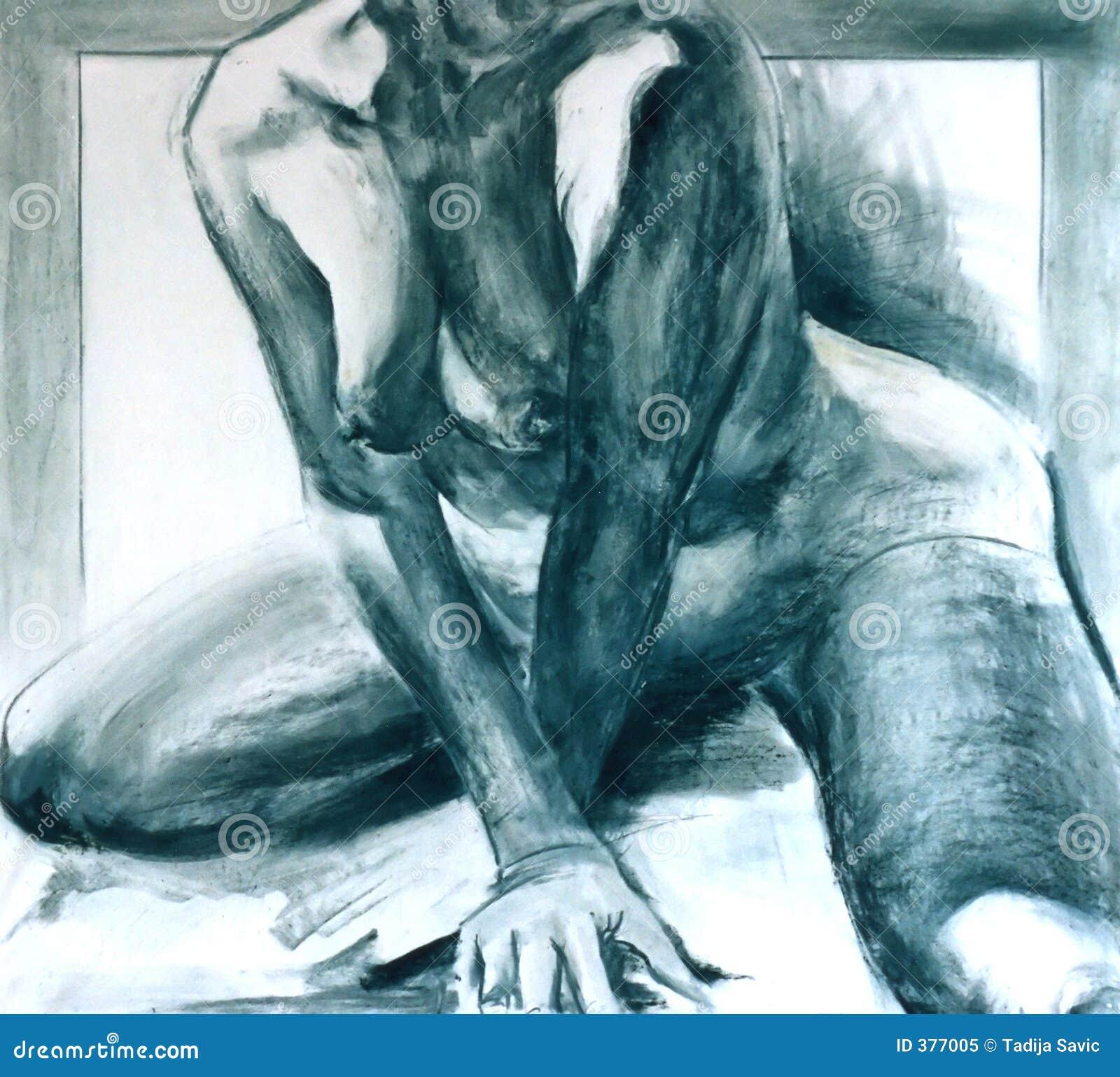 γυμνή γυναίκα κορμών
