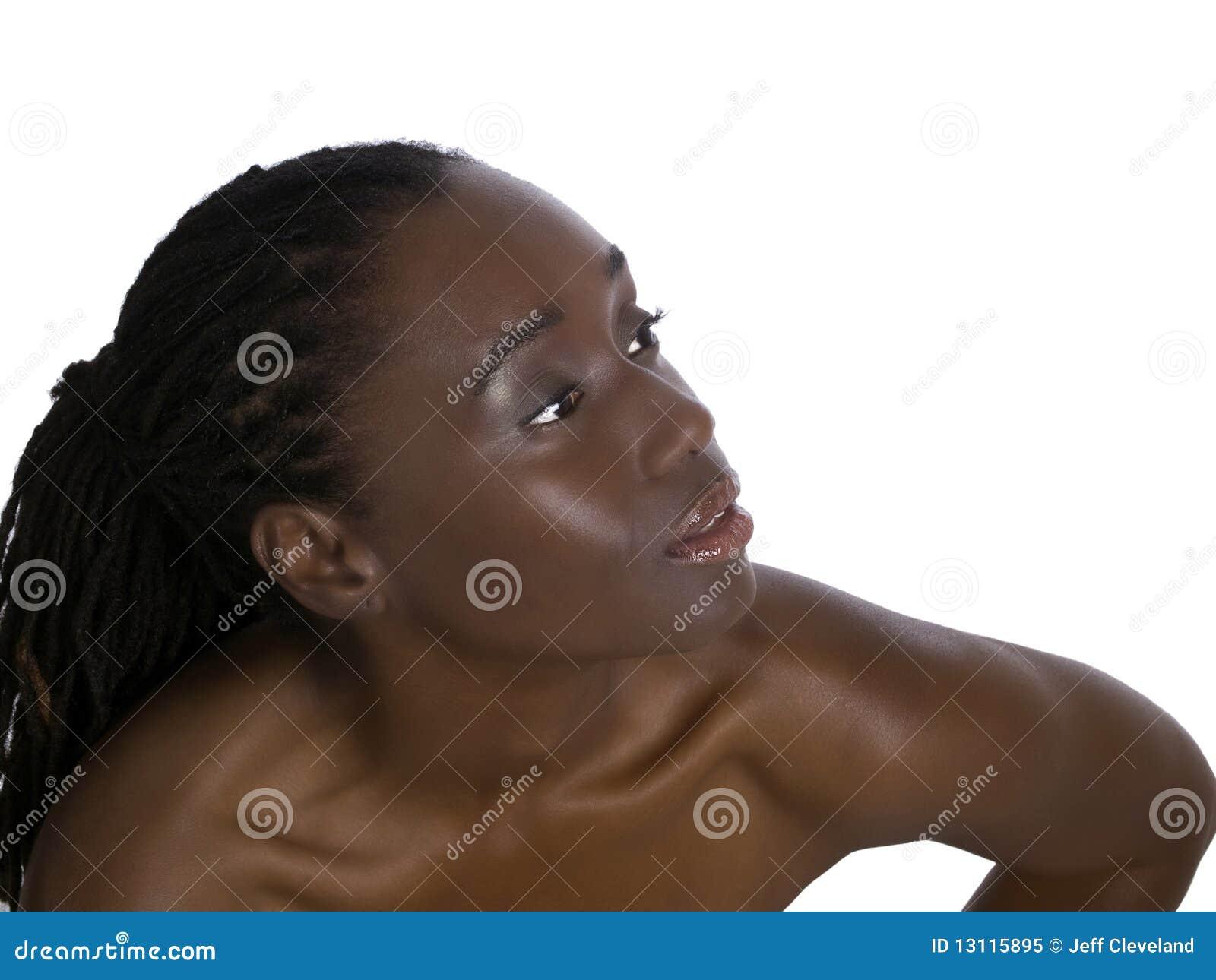 Γυμνές όμορφες μαύρες γυναίκες