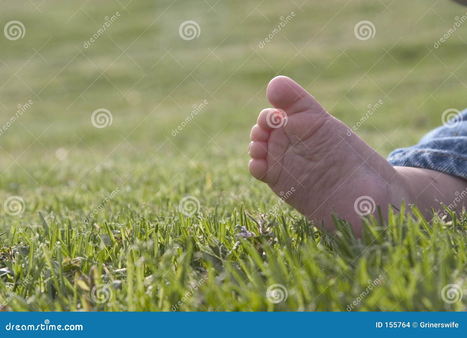 γυμνό πόδι